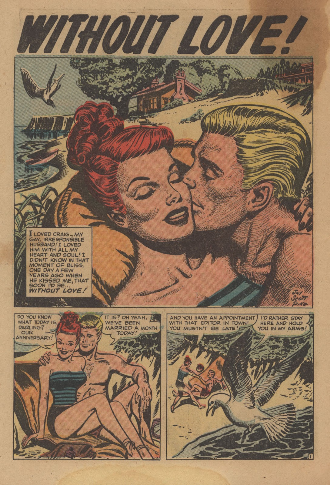 Love Romances (1949) issue 28 - Page 28