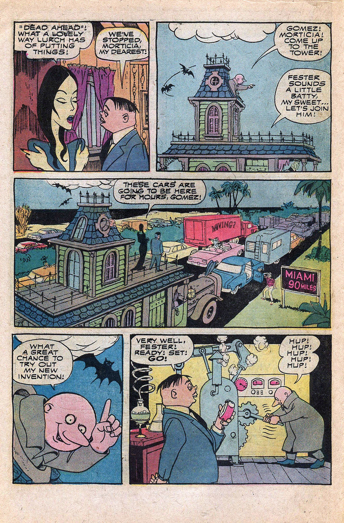 Read online Addams Family comic -  Issue #1 - 33