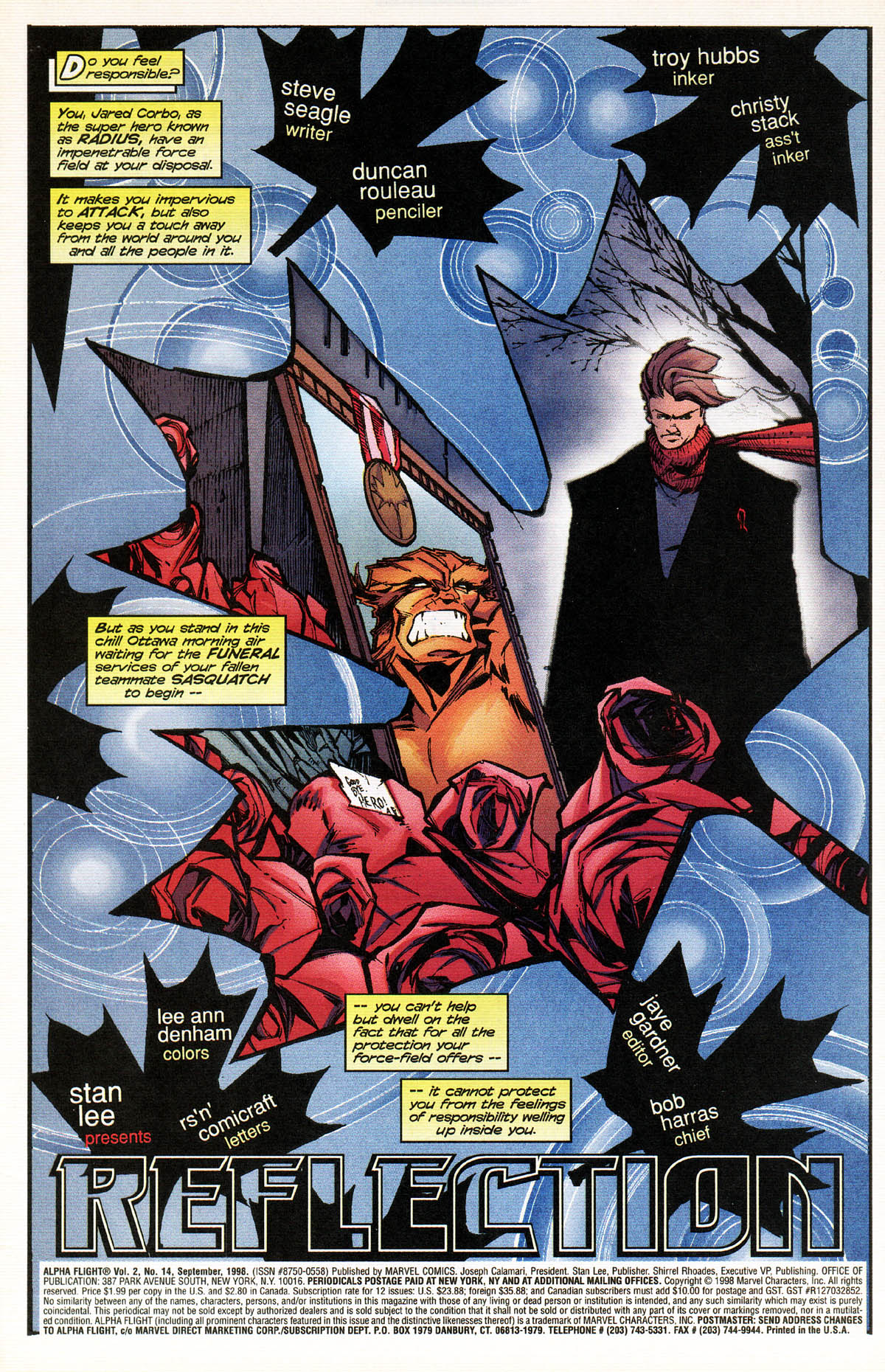 Read online Alpha Flight (1997) comic -  Issue #14 - 4