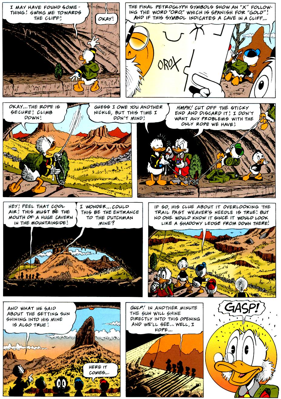 Read online Uncle Scrooge (1953) comic -  Issue #319 - 14