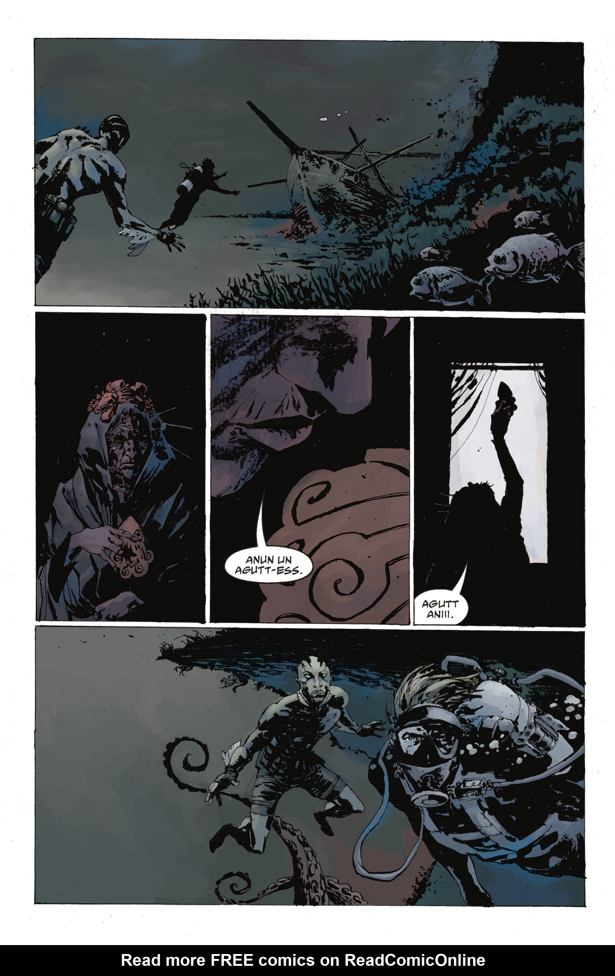 Read online Abe Sapien: The Drowning comic -  Issue #Abe Sapien: The Drowning _TPB - 29