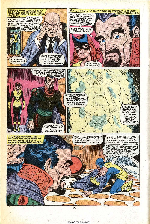Read online Uncanny X-Men (1963) comic -  Issue #78 - 16
