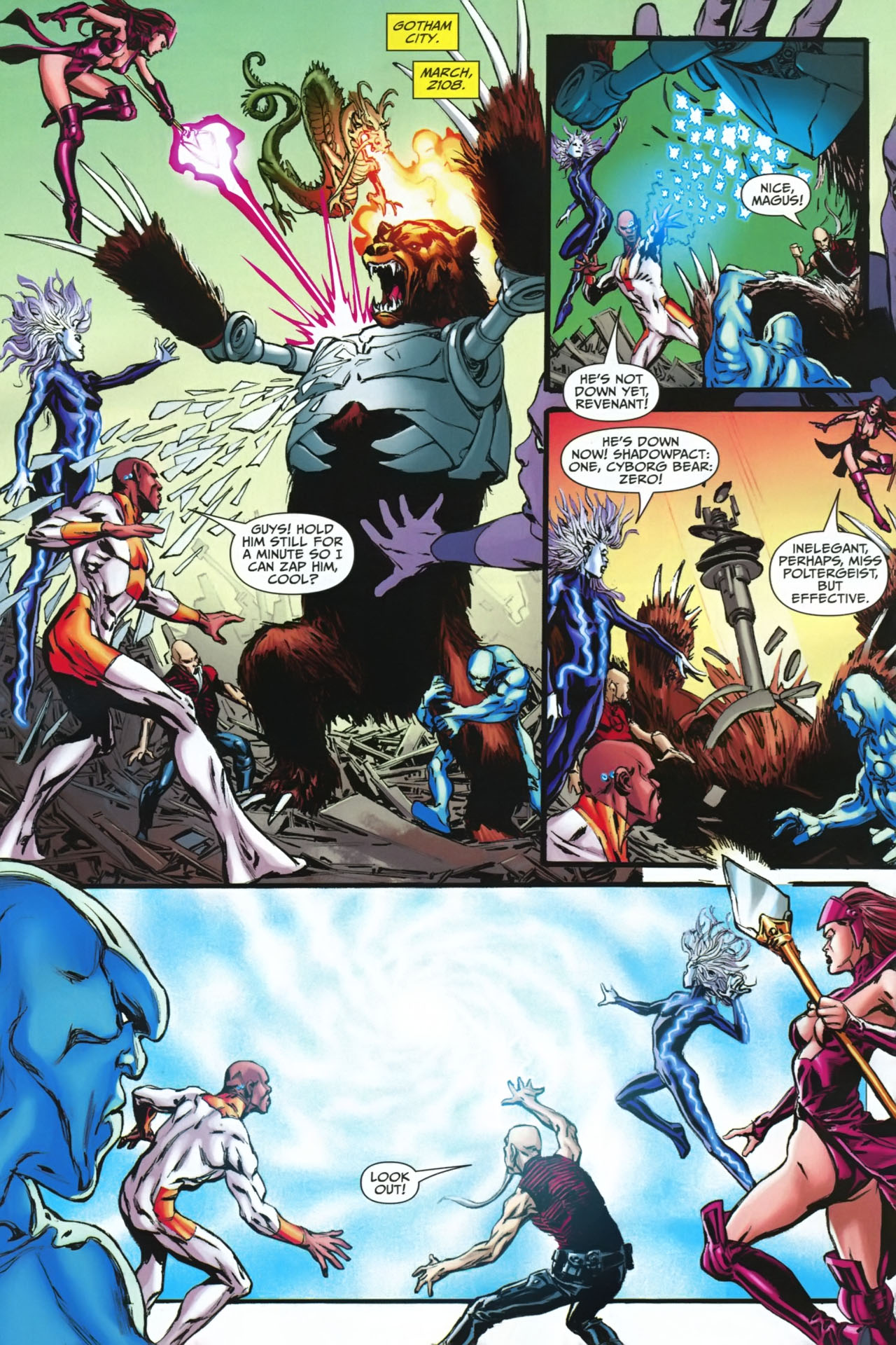 Read online Shadowpact comic -  Issue #23 - 22