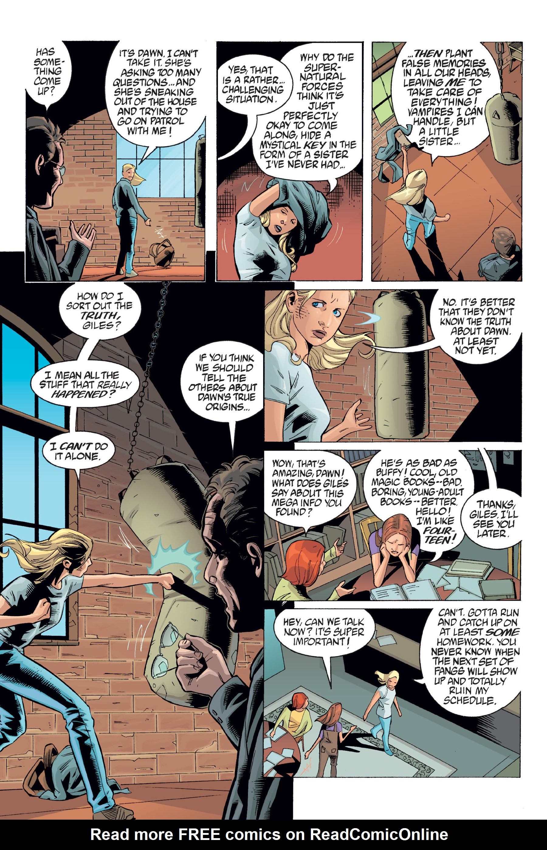 Read online Buffy the Vampire Slayer: Omnibus comic -  Issue # TPB 6 - 302