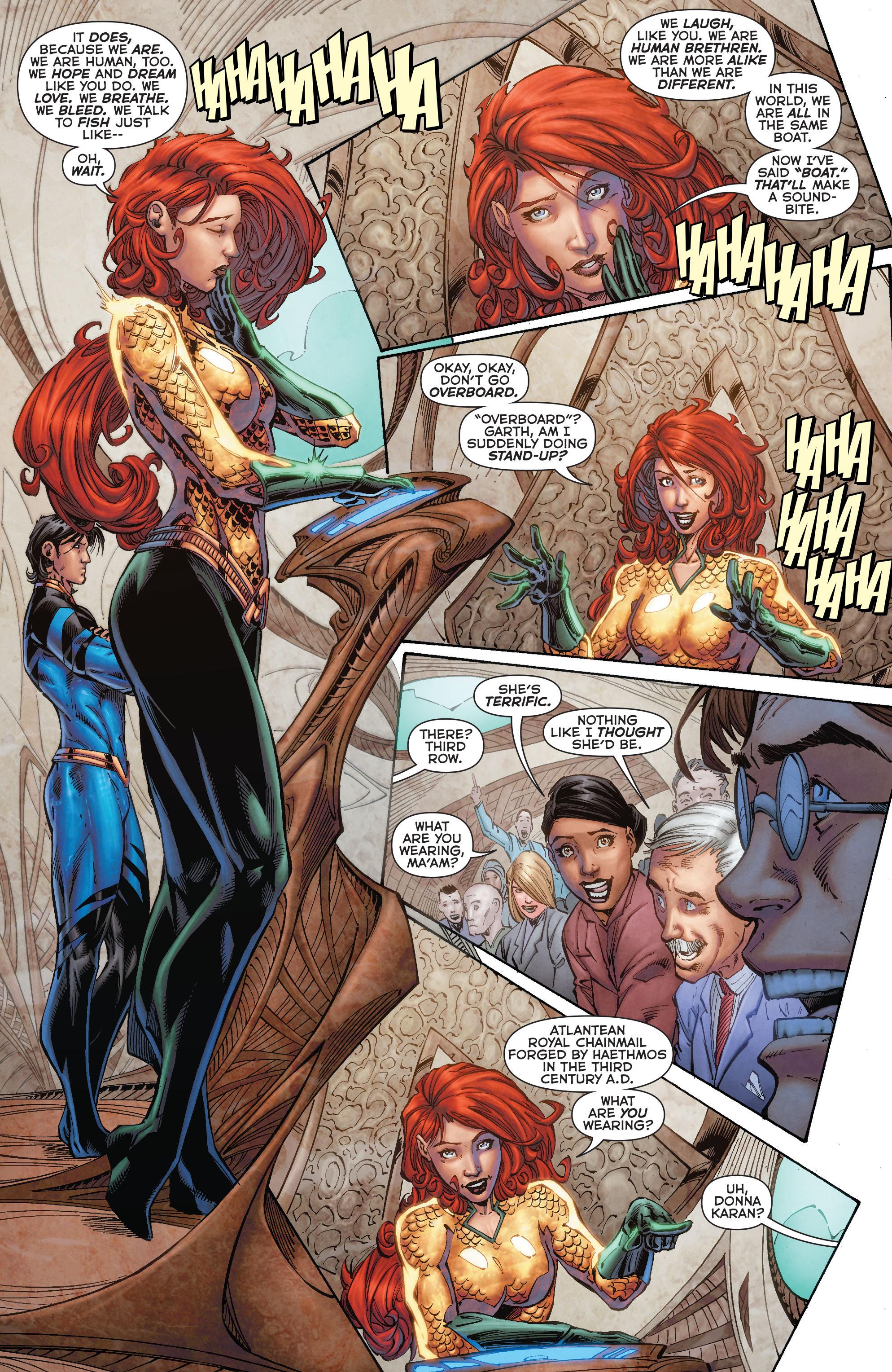 Read online Aquaman (2011) comic -  Issue #50 - 41