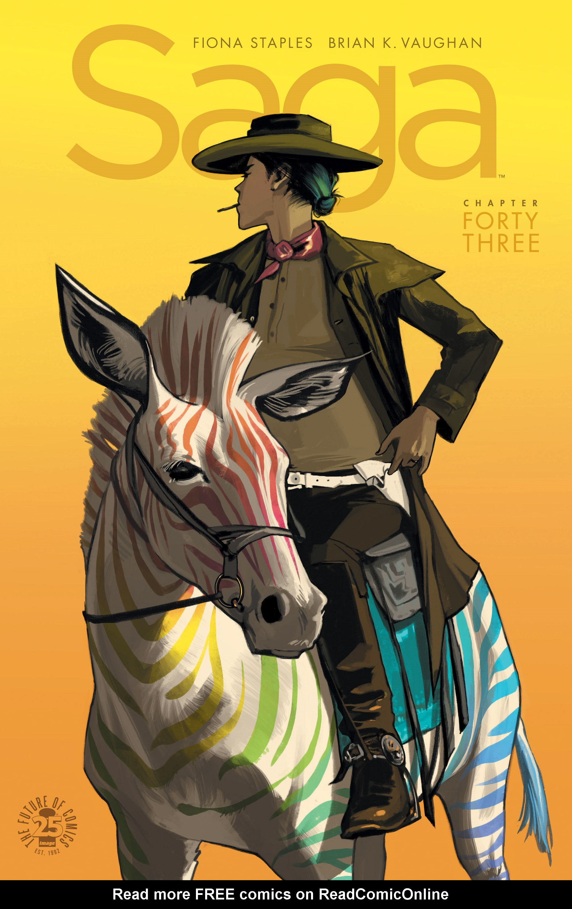 Read online Saga comic -  Issue #43 - 1
