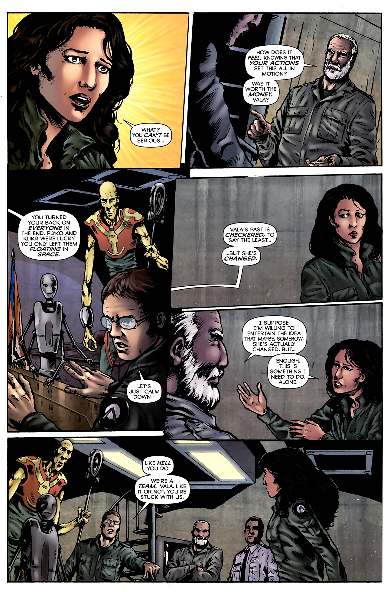 Read online Stargate Vala Mal Doran comic -  Issue #3 - 22