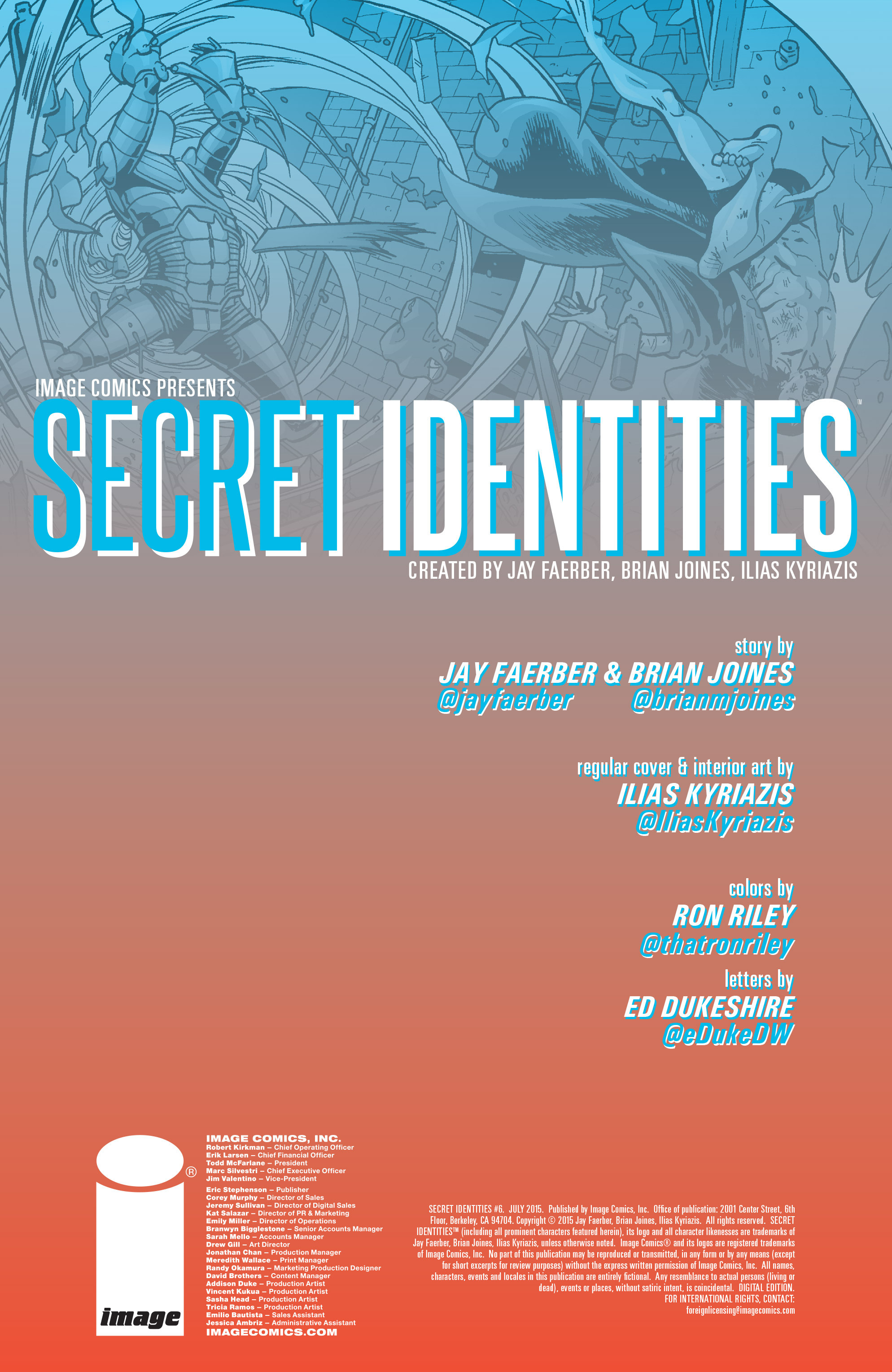Read online Secret Identities comic -  Issue #6 - 2