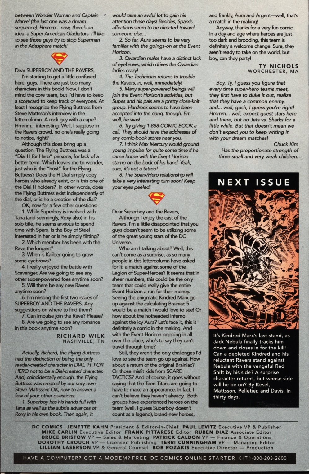 Read online Superboy & The Ravers comic -  Issue #11 - 24