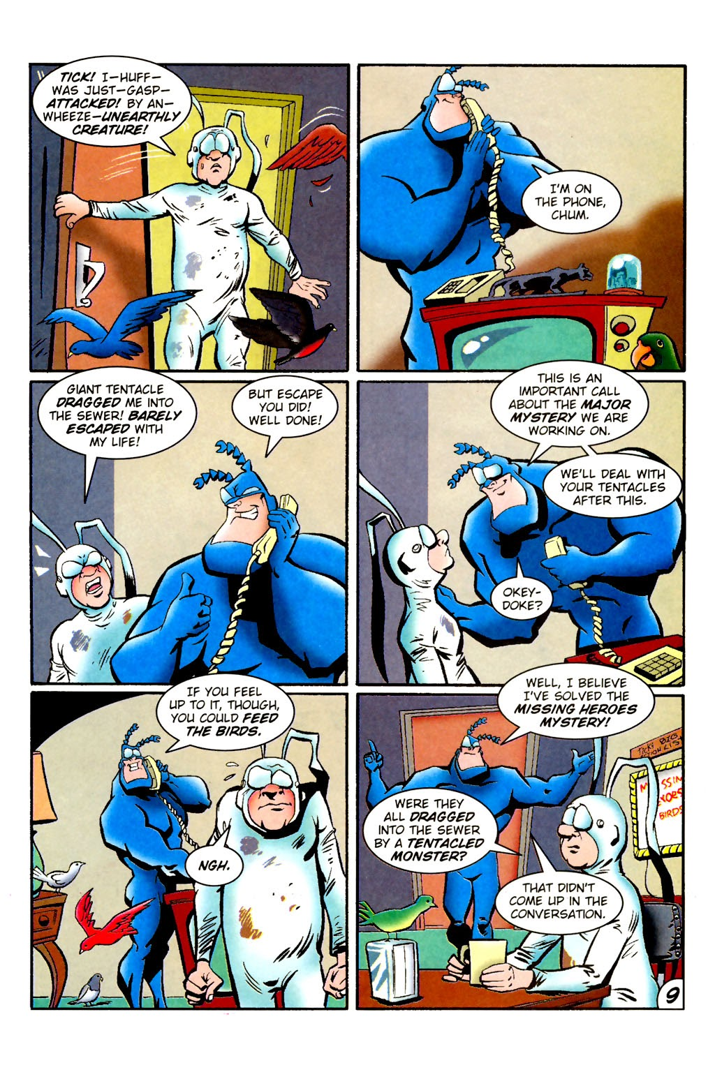 Read online The Tick: Days of Drama comic -  Issue #1 - 13