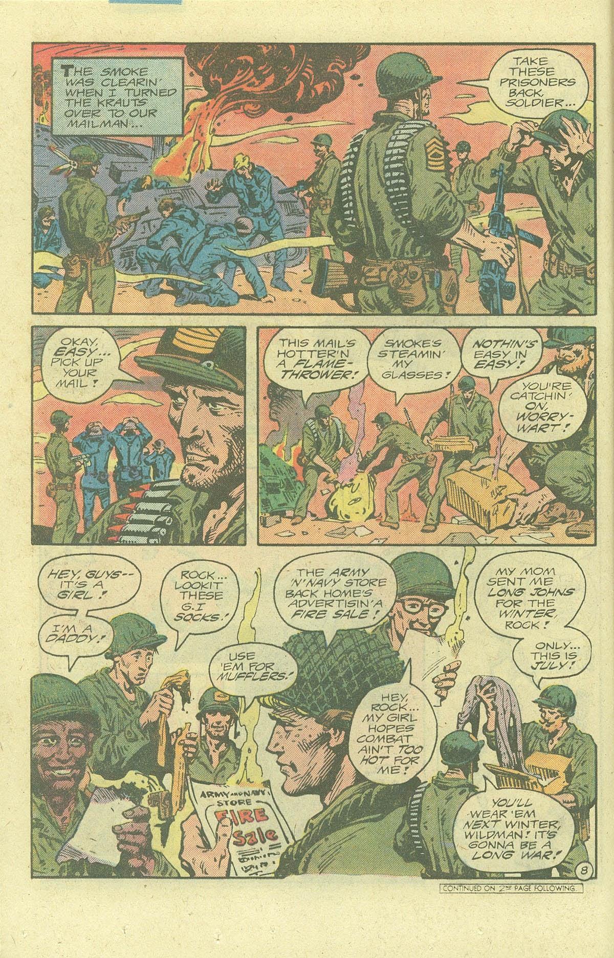 Read online Sgt. Rock comic -  Issue #378 - 11