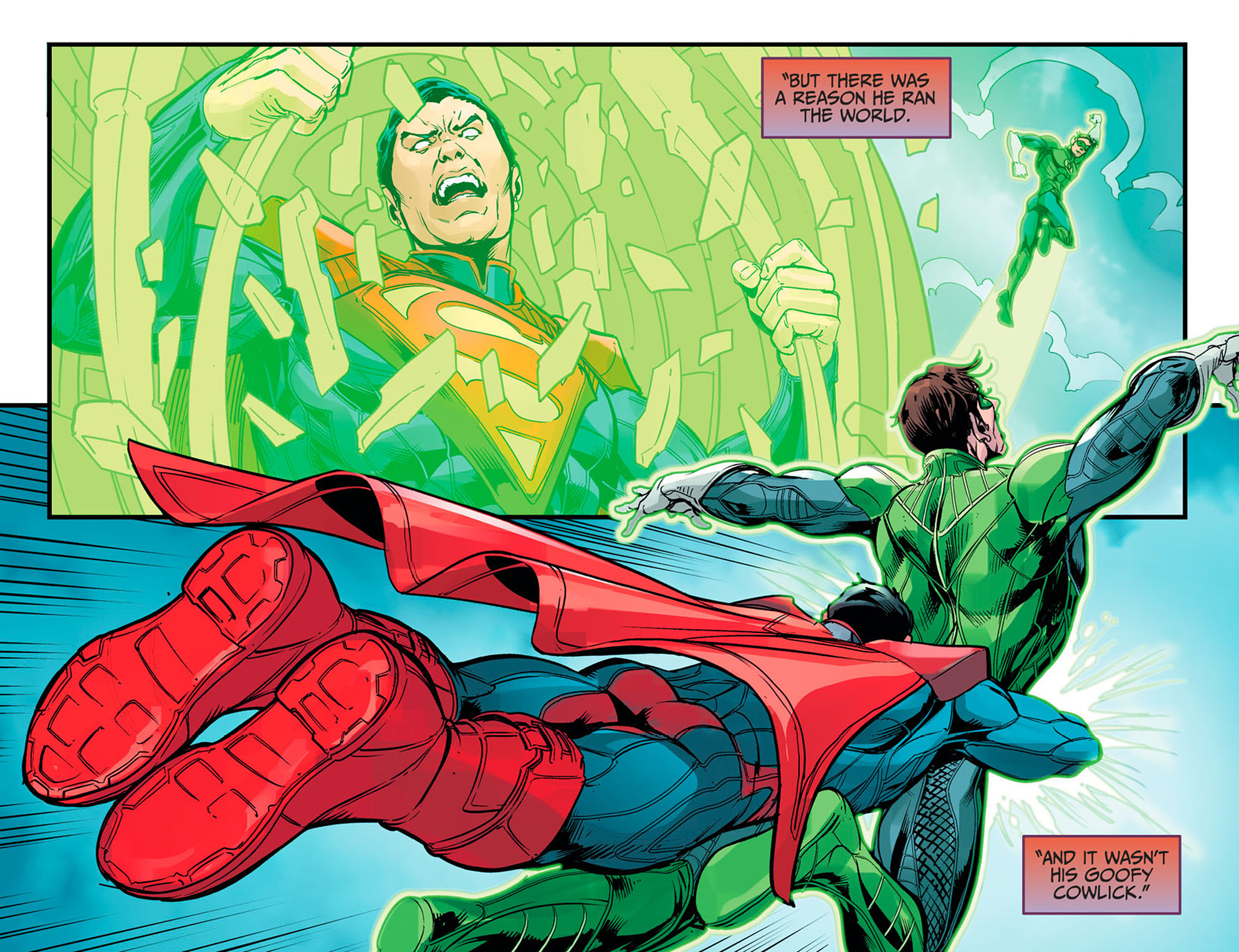 Read online Injustice: Ground Zero comic -  Issue #16 - 19