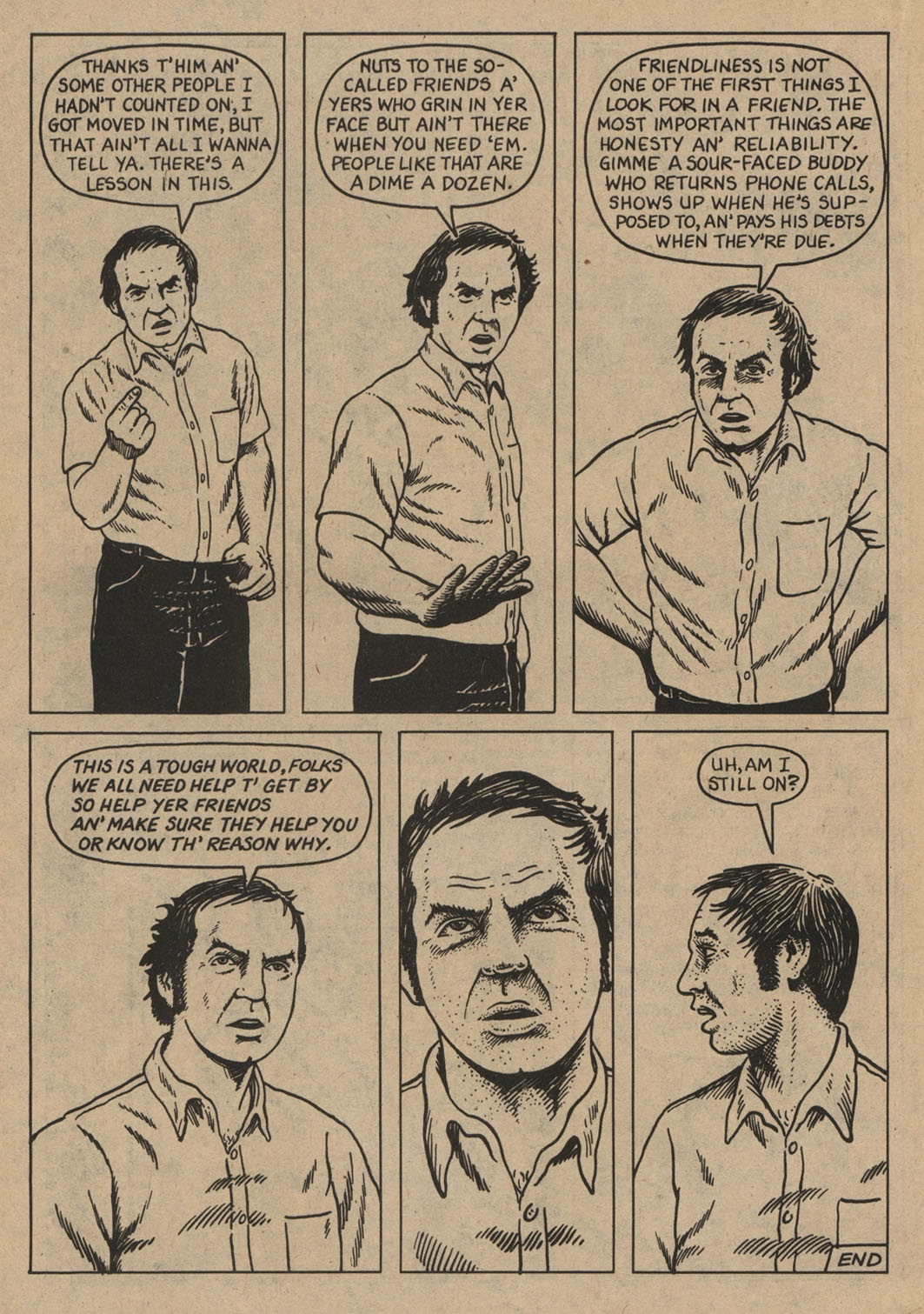 American Splendor (1976) issue 6 - Page 35