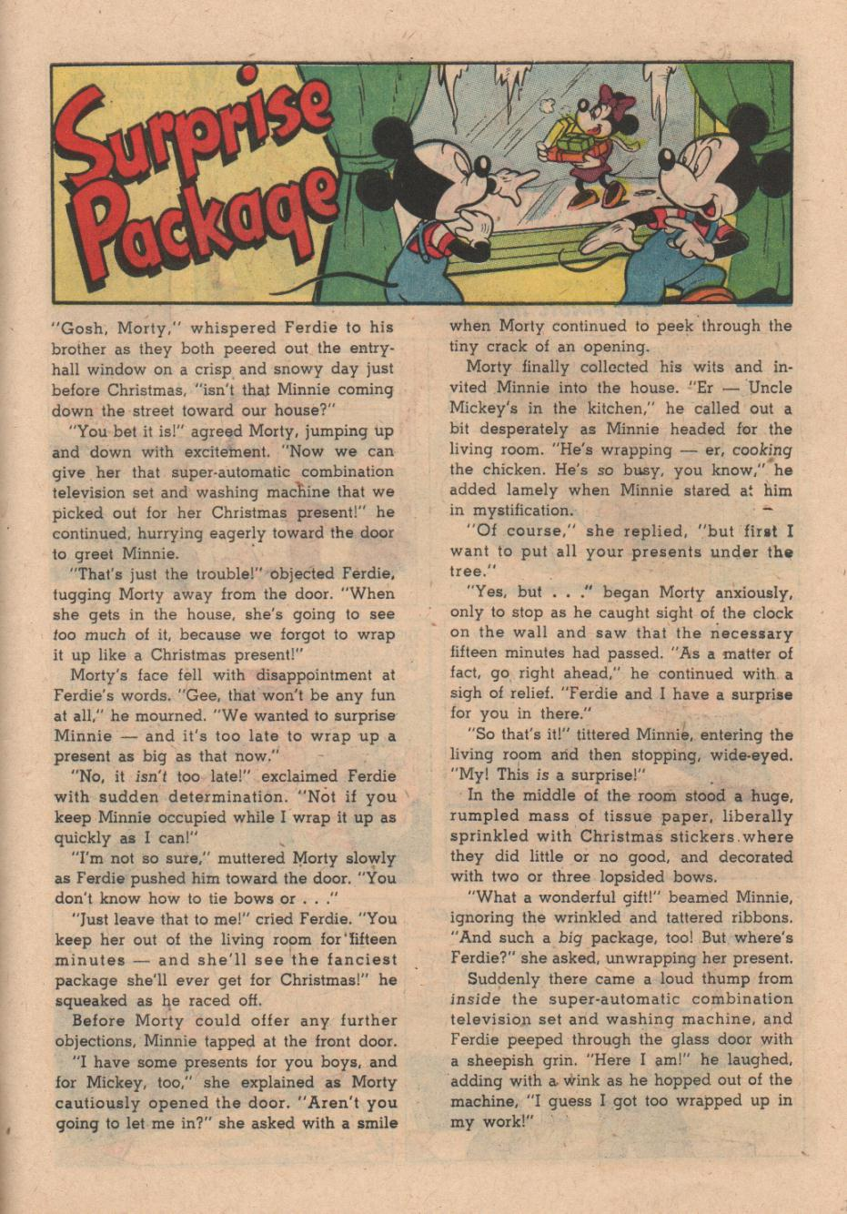 Read online Uncle Scrooge (1953) comic -  Issue #24 - 27