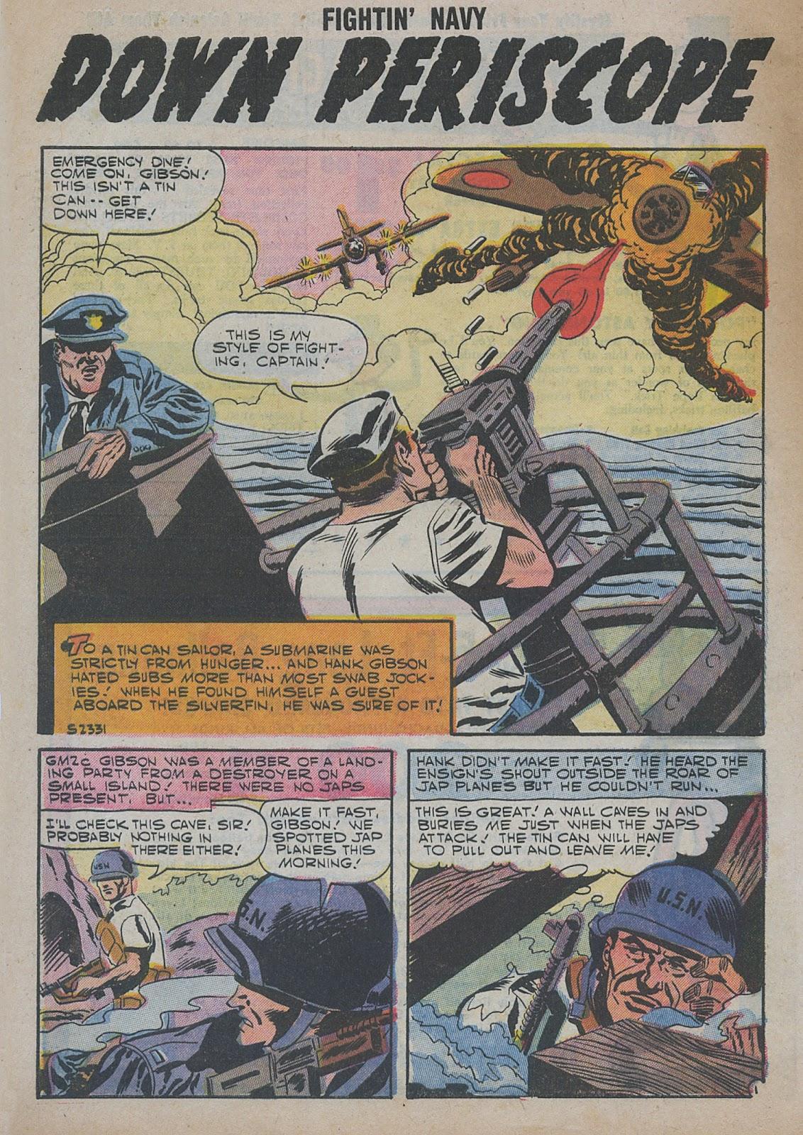 Read online Fightin' Navy comic -  Issue #82 - 54