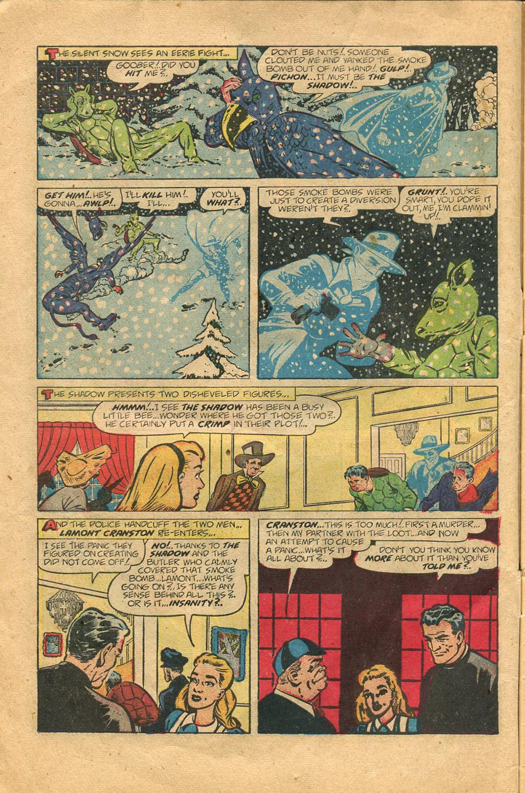 Read online Shadow Comics comic -  Issue #100 - 10