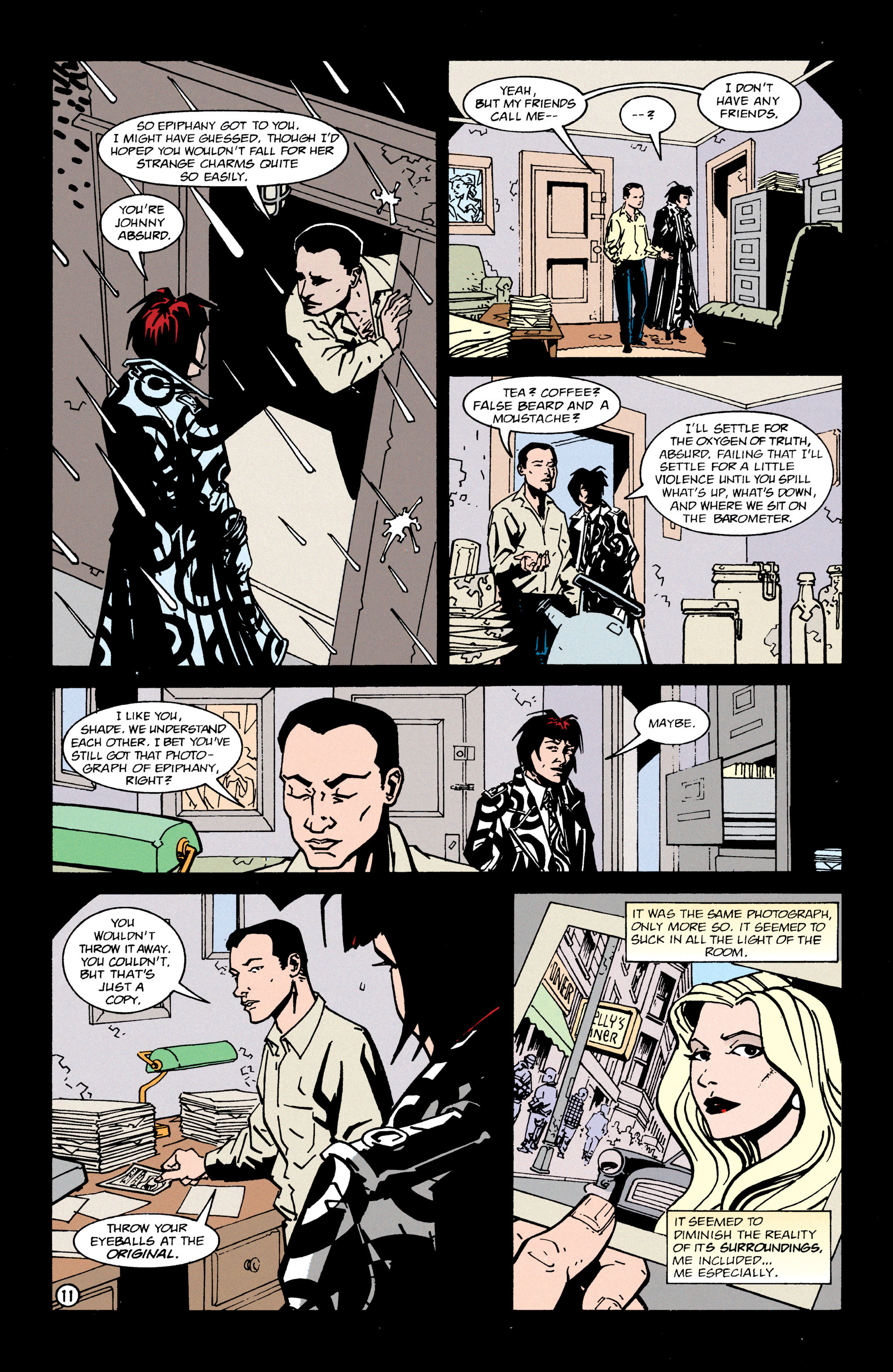 Read online Shade, the Changing Man comic -  Issue #65 - 12