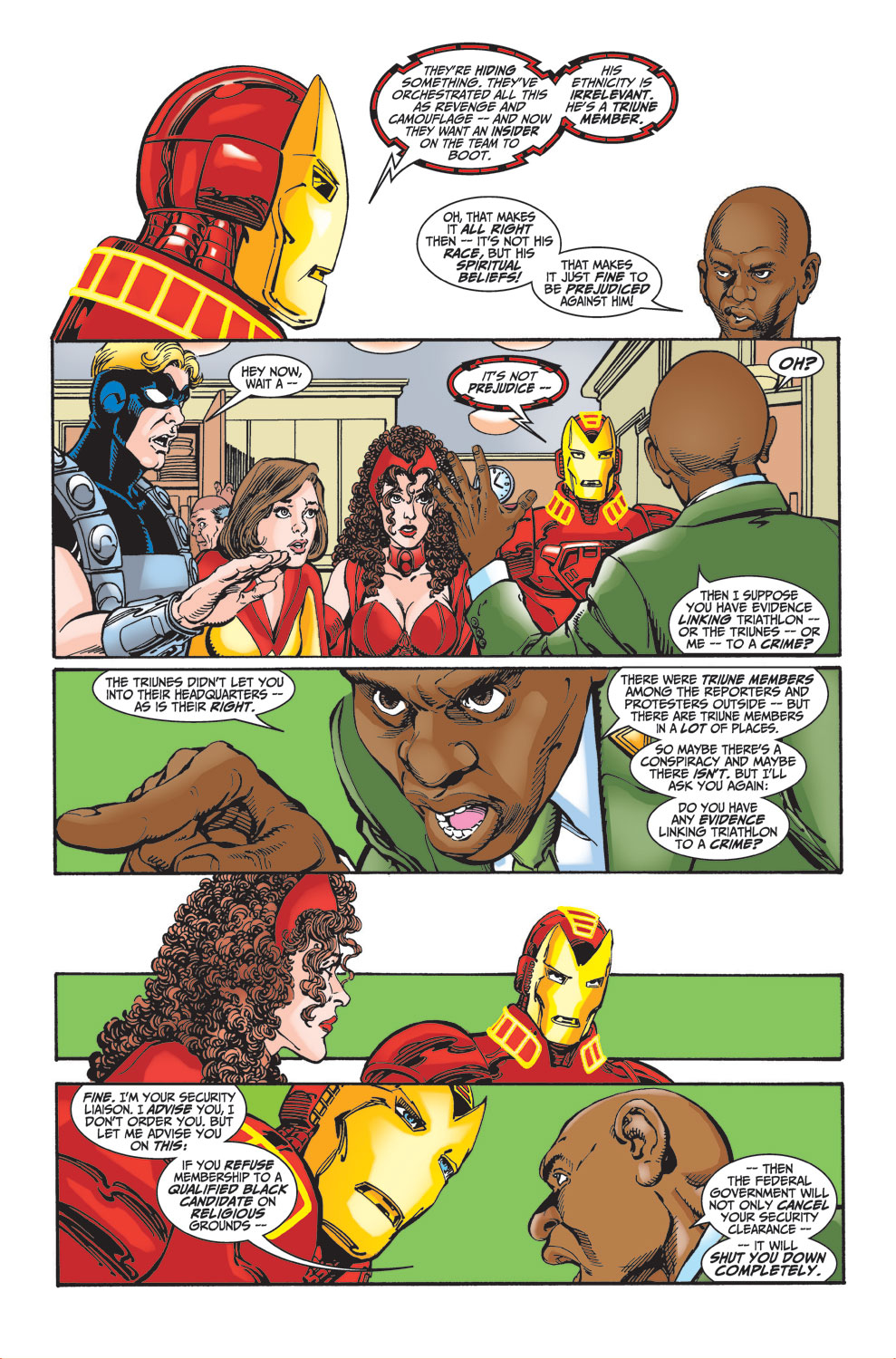 Read online Avengers (1998) comic -  Issue #27 - 18