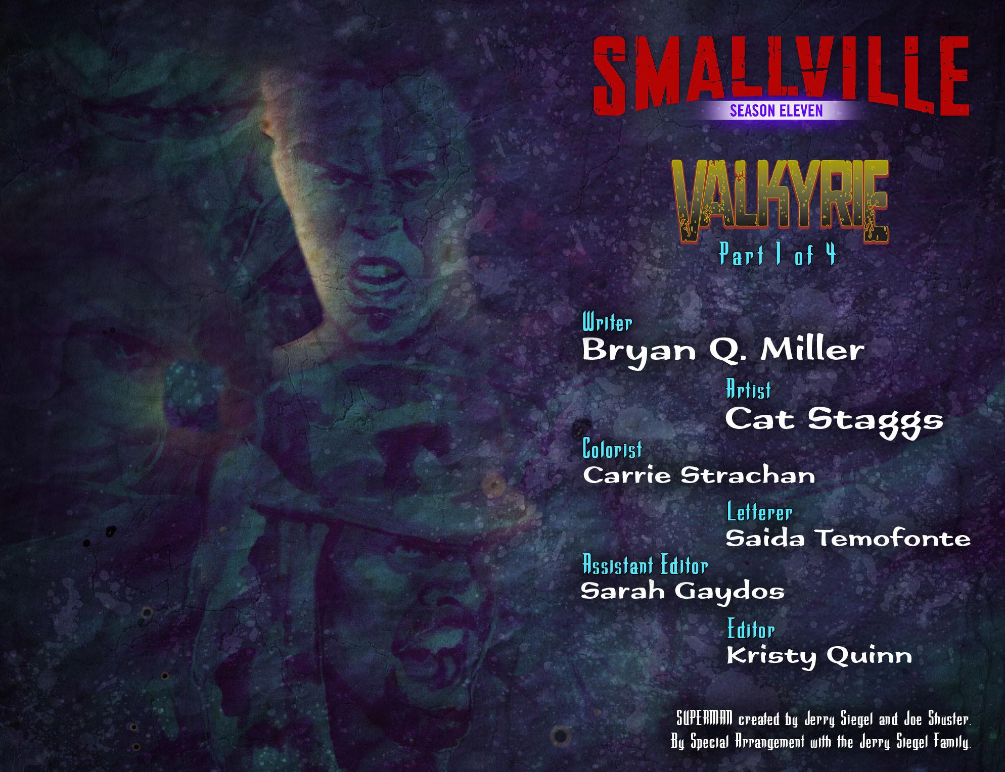 Read online Smallville: Season 11 comic -  Issue #41 - 2