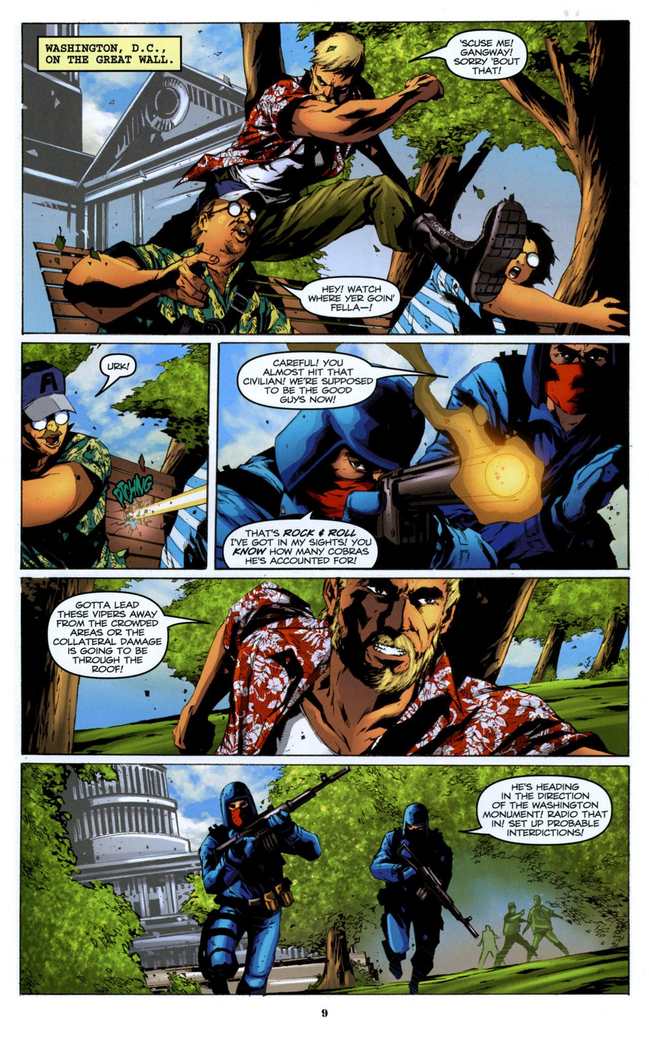 G.I. Joe: A Real American Hero 157 Page 10