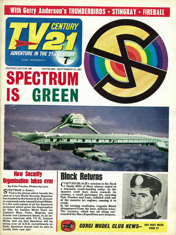 TV Century 21 (TV 21) 140 Page 1