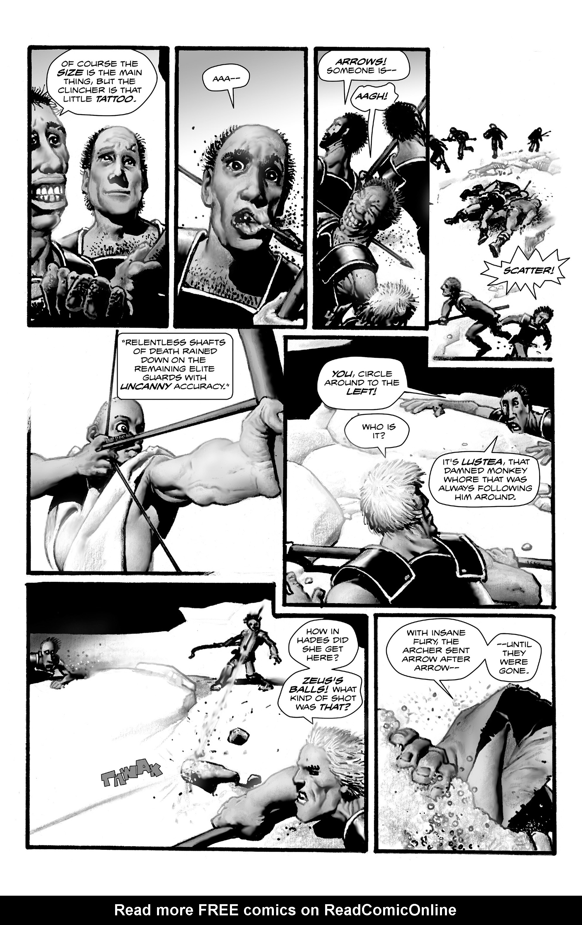 Read online Shadows on the Grave comic -  Issue #4 - 31