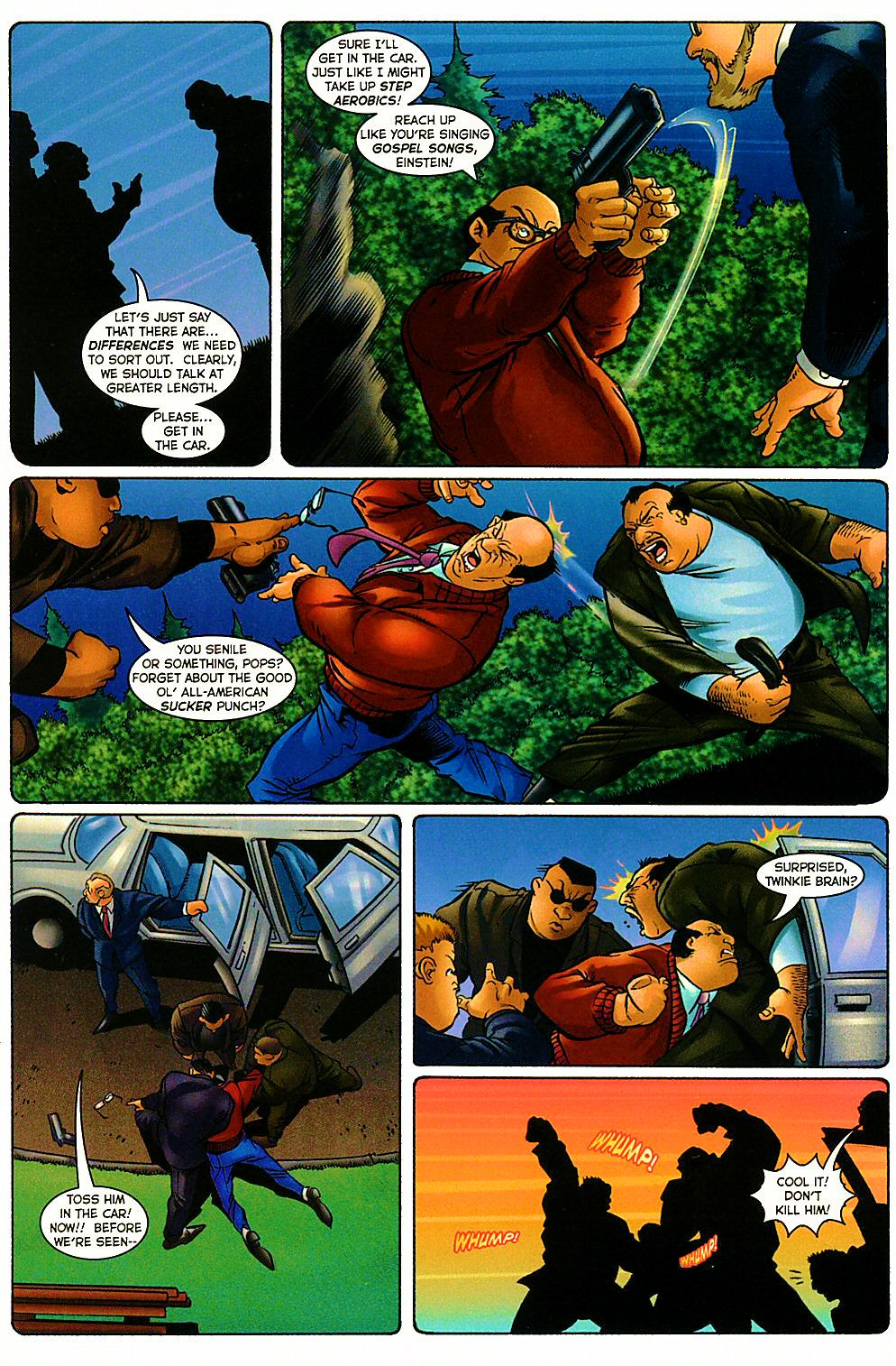 Read online Shi: The Way of the Warrior comic -  Issue #9 - 9