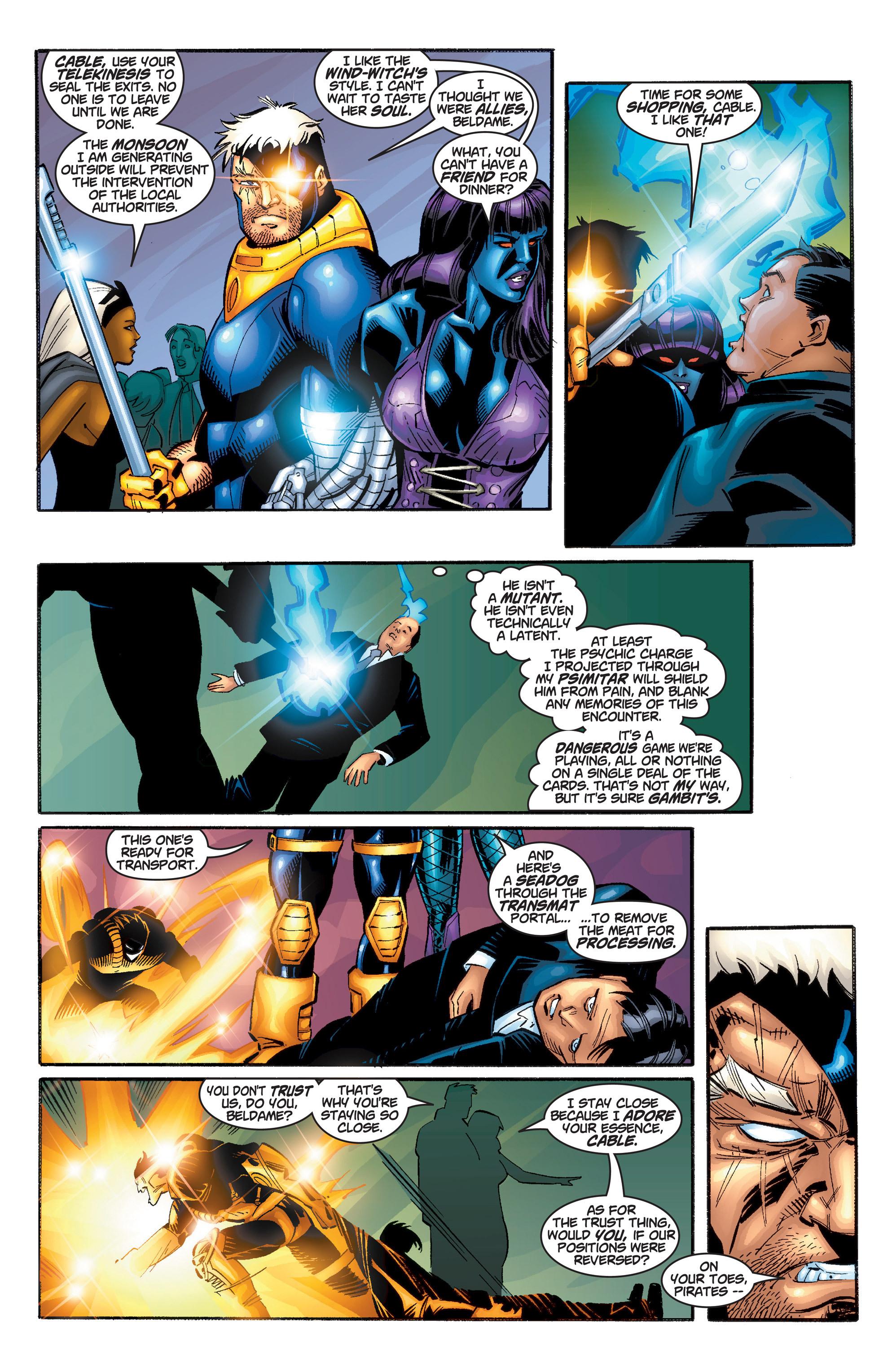 Read online Uncanny X-Men (1963) comic -  Issue #385 - 4