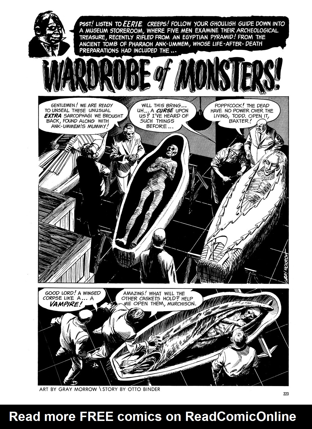 Read online Eerie Archives comic -  Issue # TPB 3 - 224