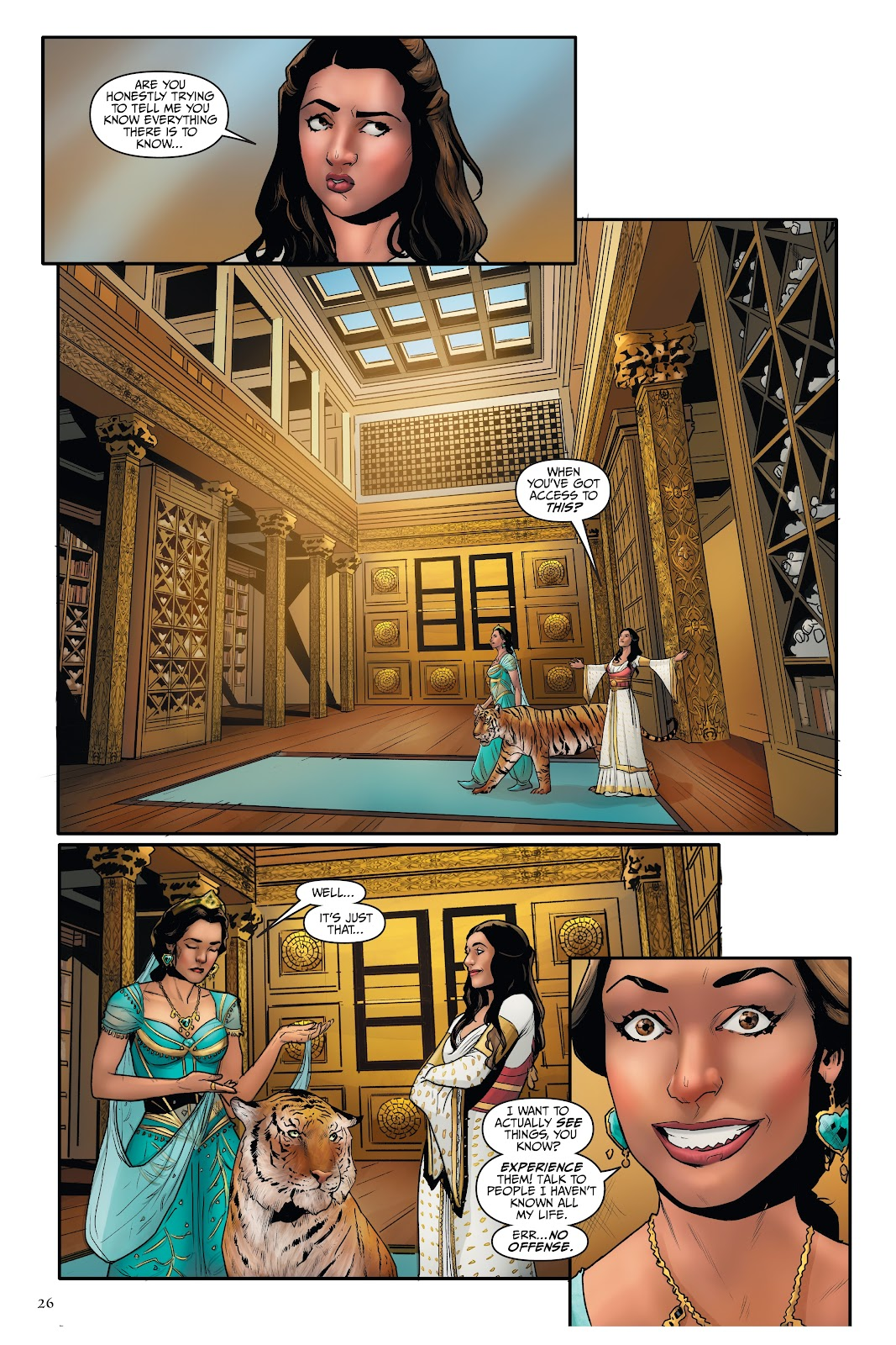 Read online Disney Aladdin: Four Tales of Agrabah comic -  Issue # TPB - 26