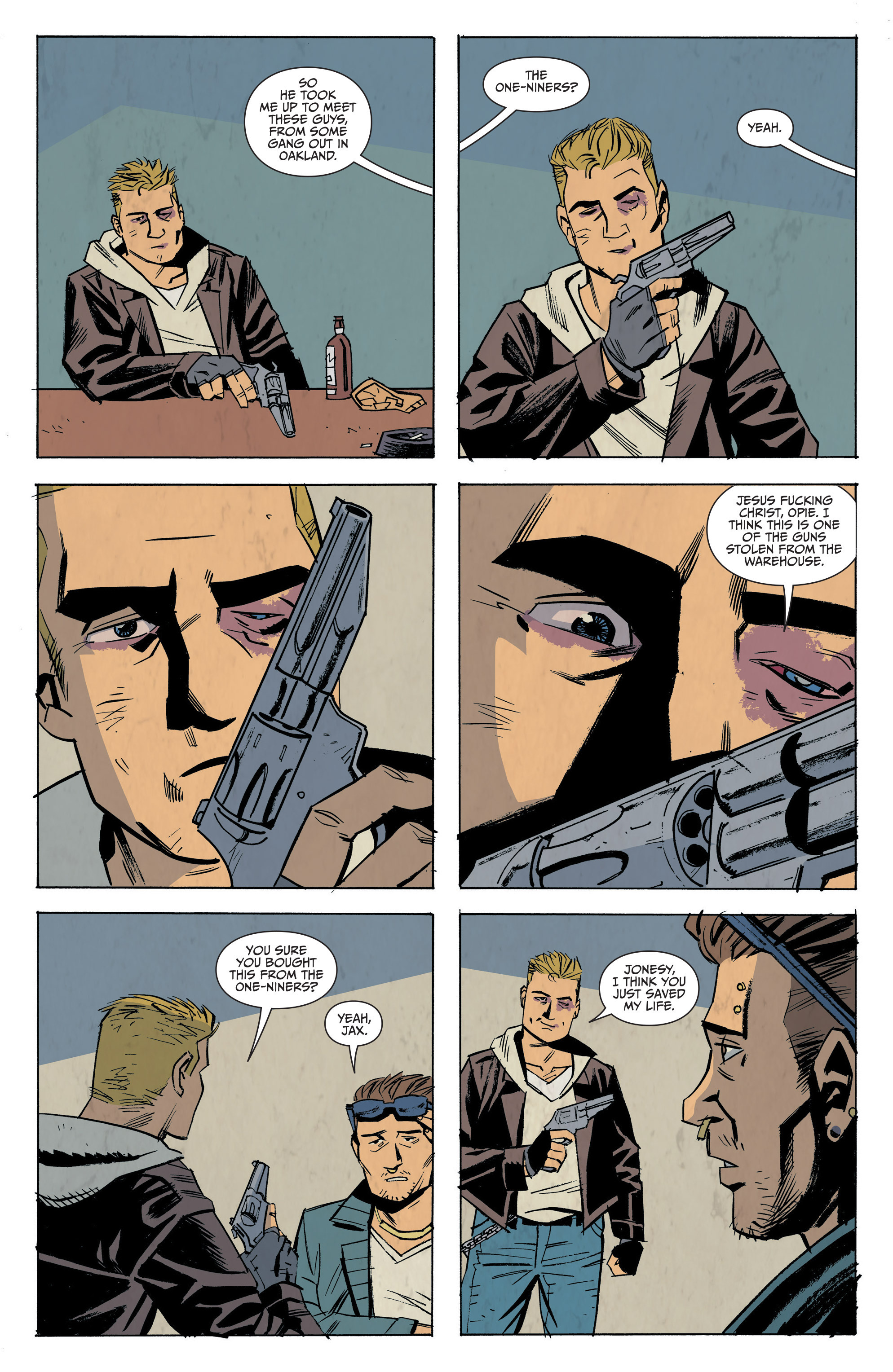Read online Sons of Anarchy: Redwood Original comic -  Issue #7 - 7
