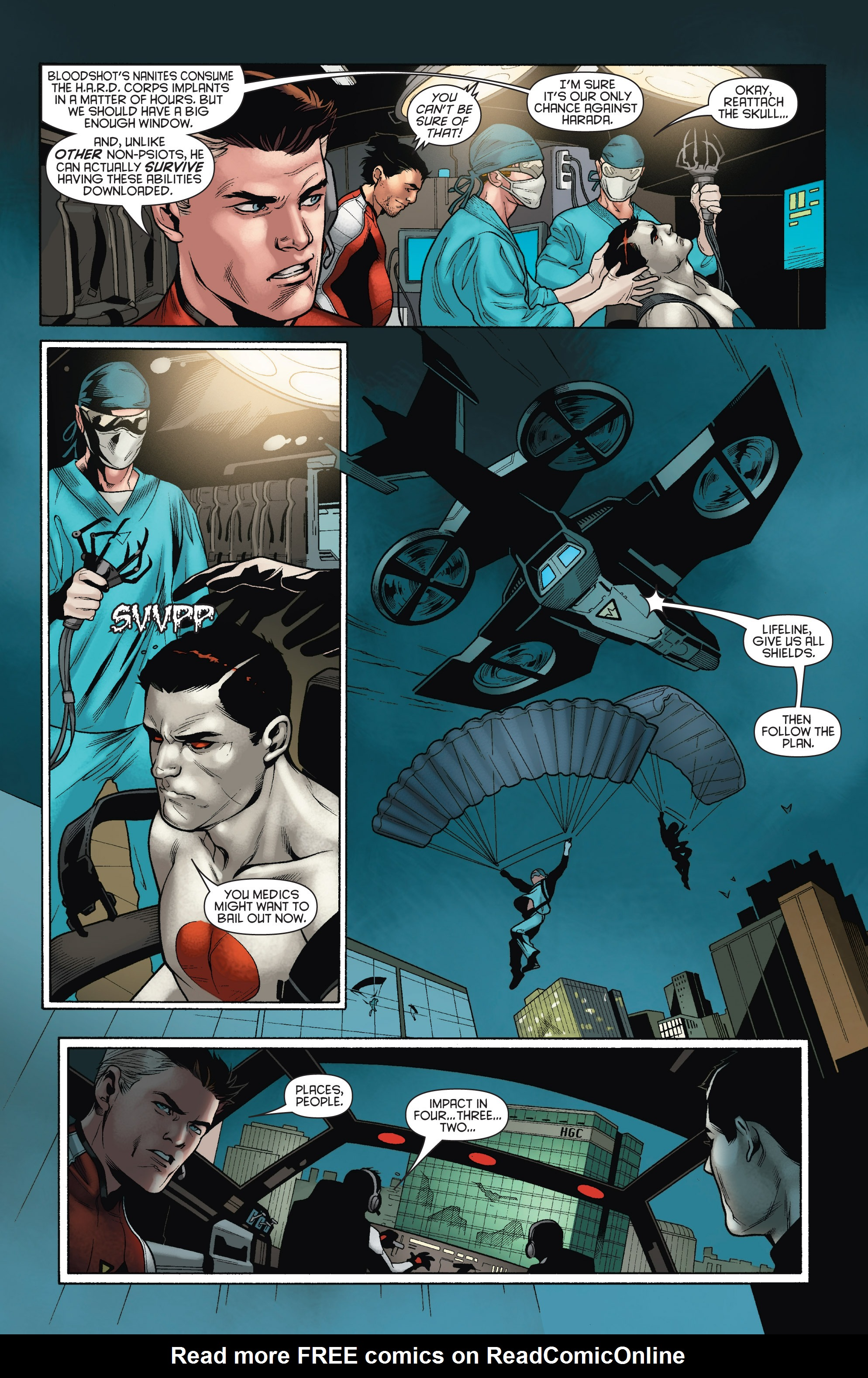 Read online Bloodshot and H.A.R.D.Corps comic -  Issue # TPB 4 - 63