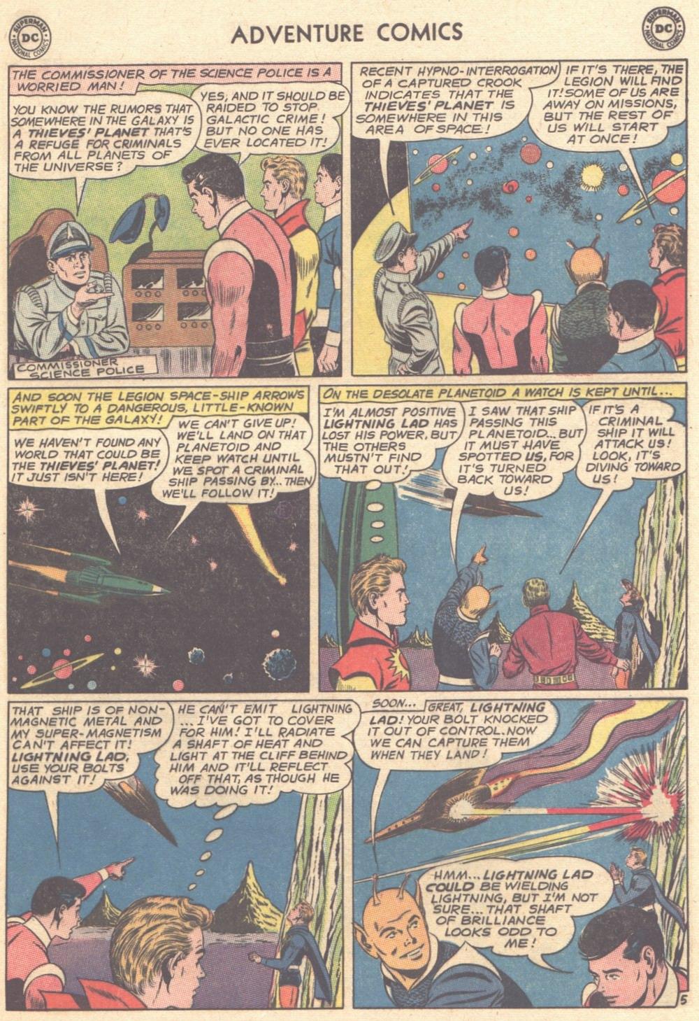 Read online Adventure Comics (1938) comic -  Issue #308 - 22
