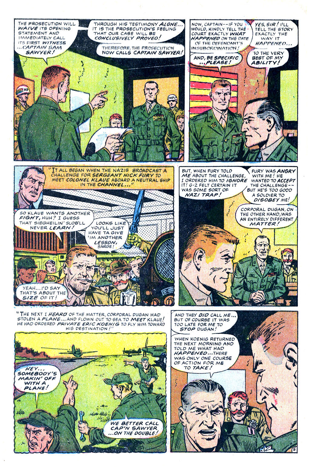 Read online Sgt. Fury comic -  Issue #60 - 8