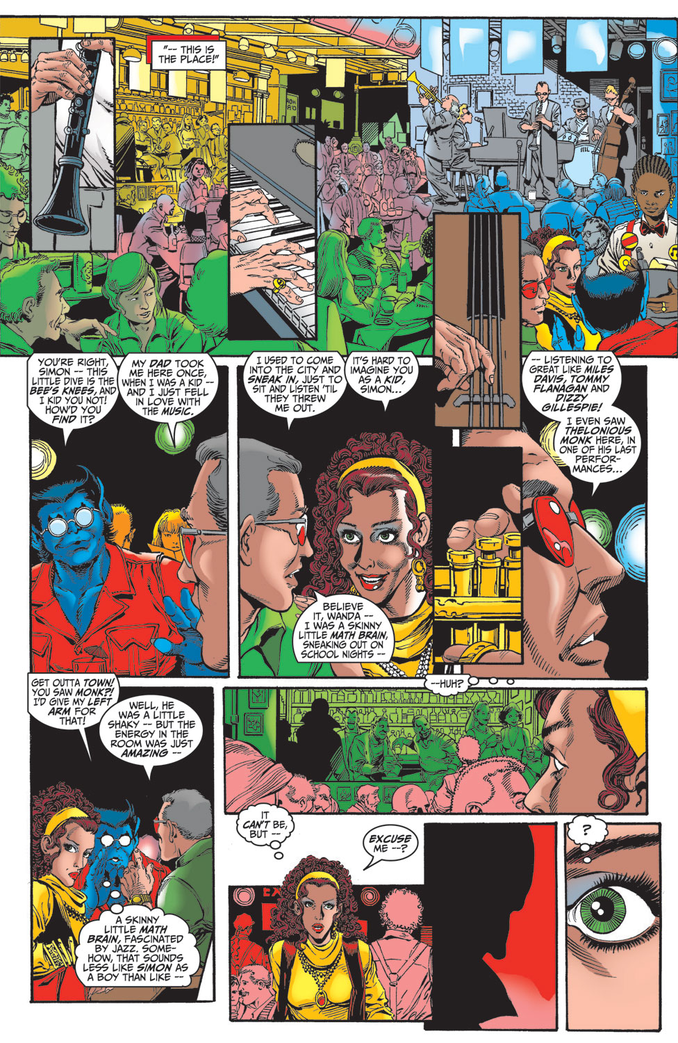 Read online Avengers (1998) comic -  Issue #14 - 7