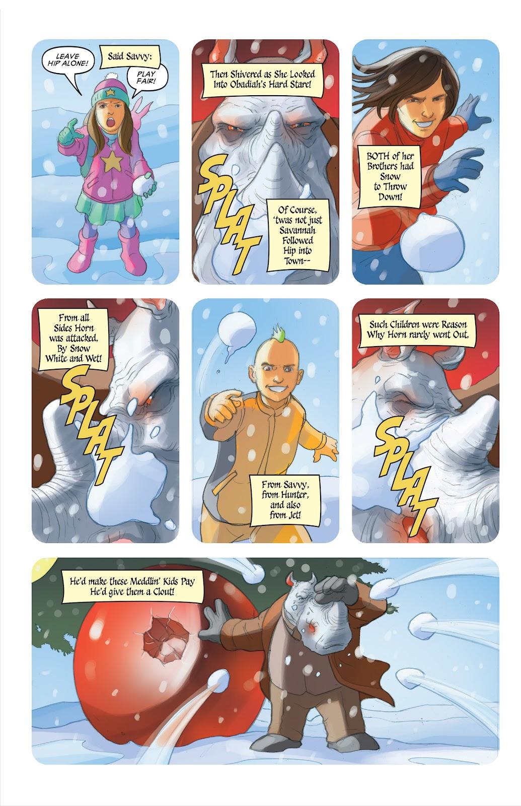 Read online Elephantmen 2261 Season Two: The Pentalion Job comic -  Issue # TPB - 111