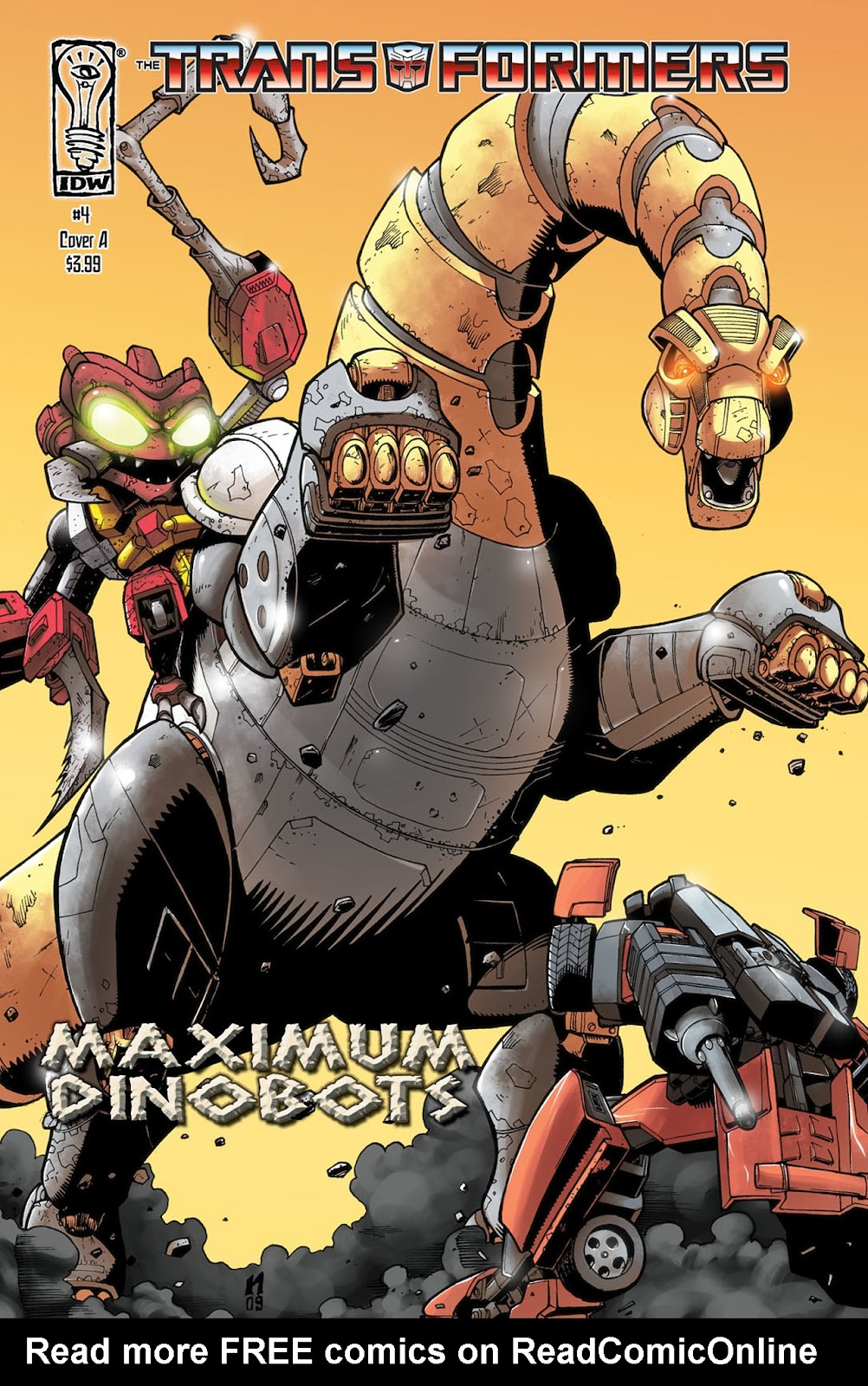The Transformers: Maximum Dinobots issue 4 - Page 1