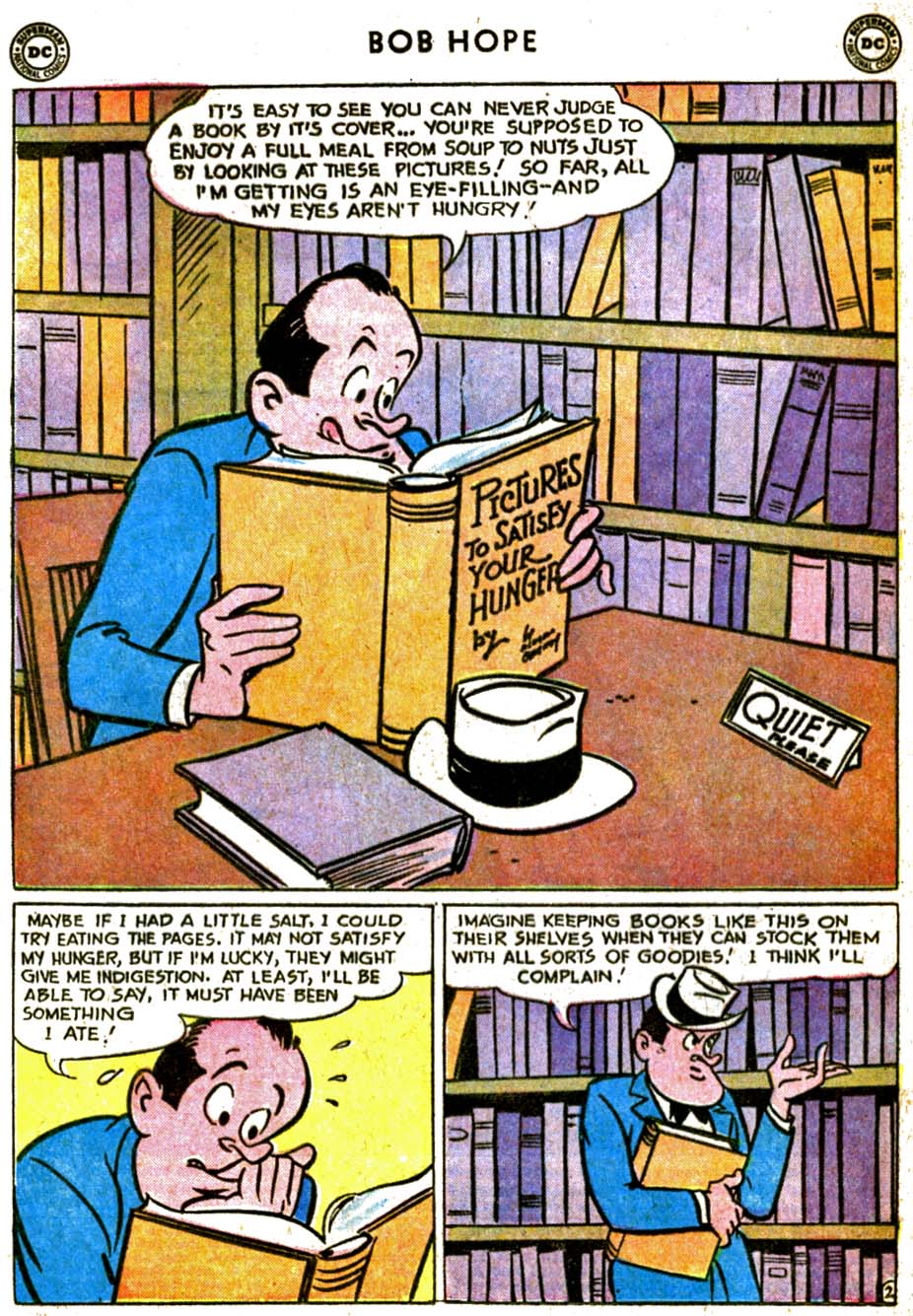 The Adventures of Bob Hope issue 77 - Page 4