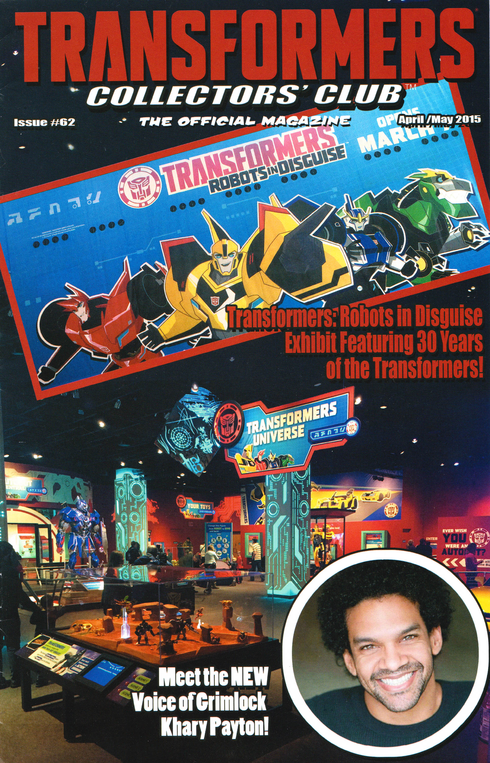 Read online Transformers: Collectors' Club comic -  Issue #62 - 1