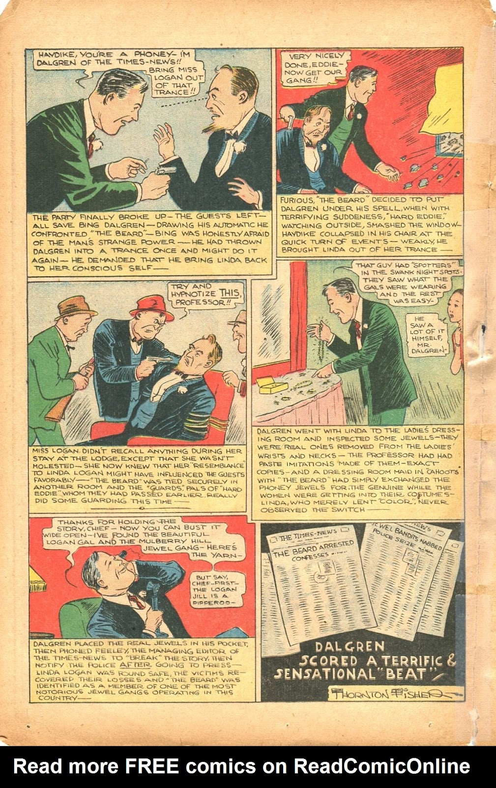 Read online Super-Magician Comics comic -  Issue #35 - 38