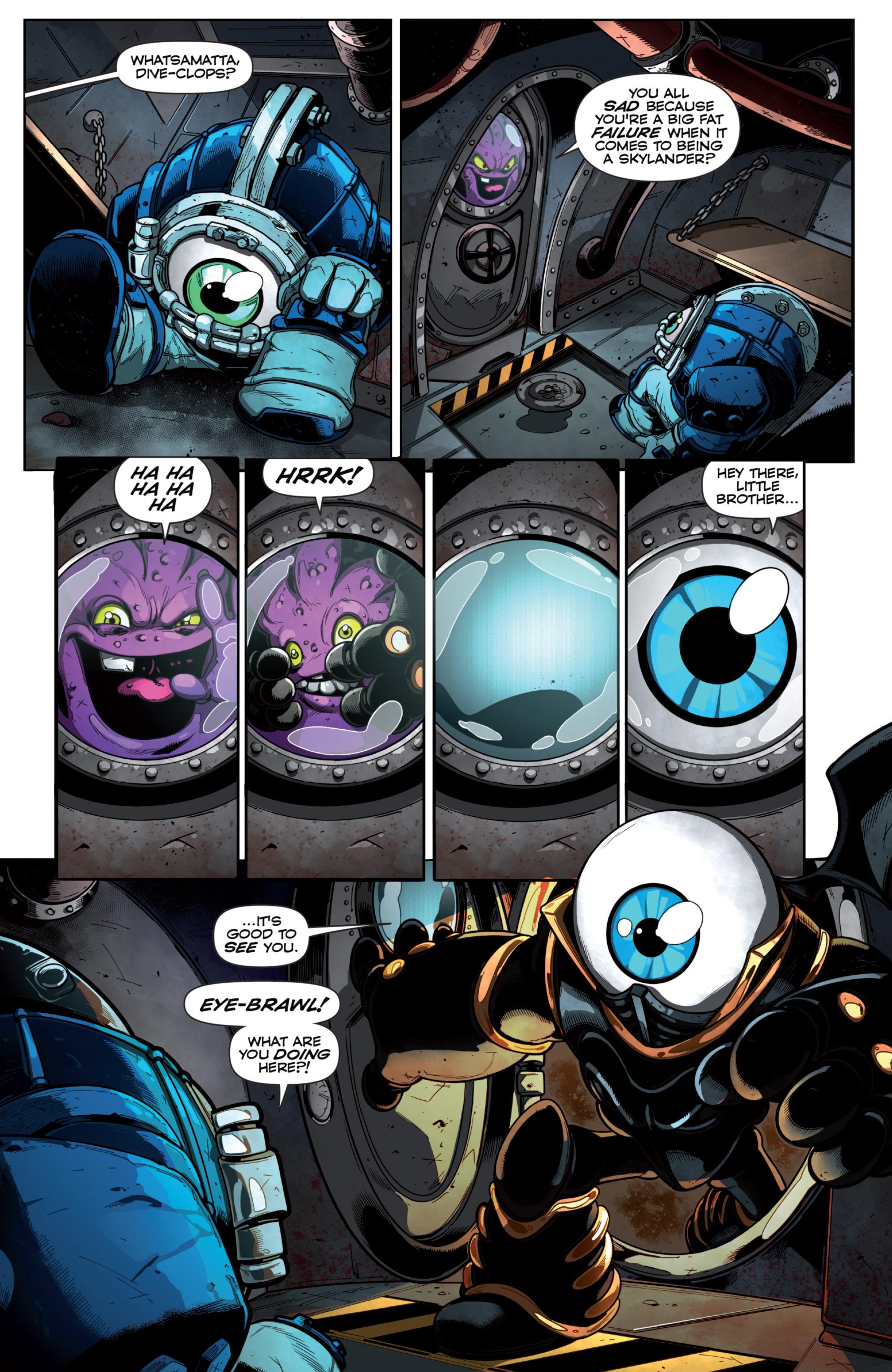 Read online Skylanders Superchargers comic -  Issue #6 - 8