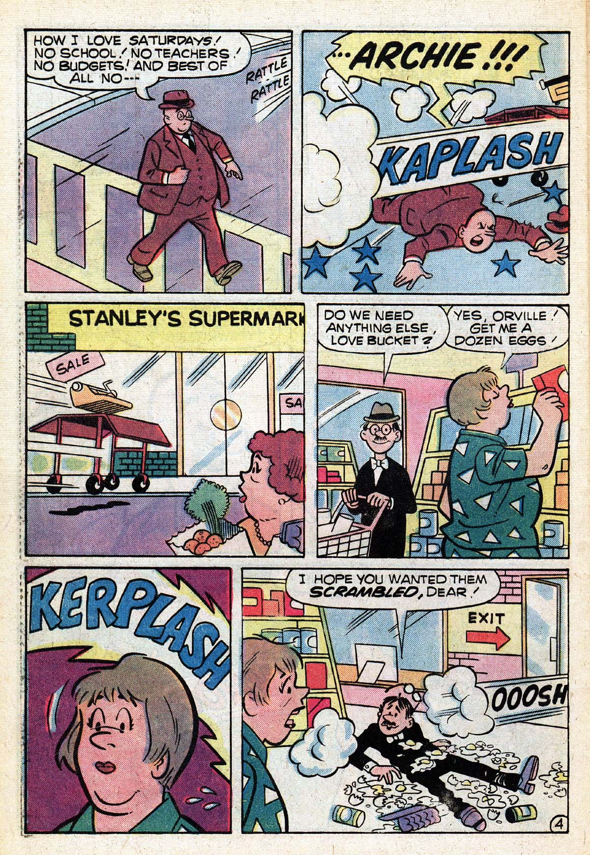 Read online Archie (1960) comic -  Issue #267 - 32