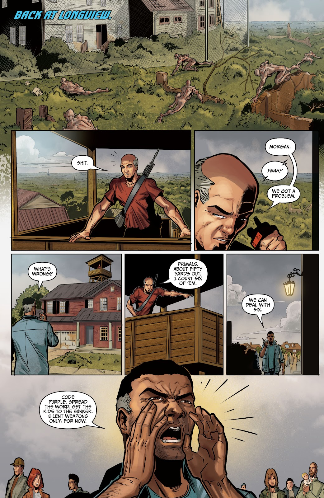 The Courier: Liberty & Death issue 2 - Page 17