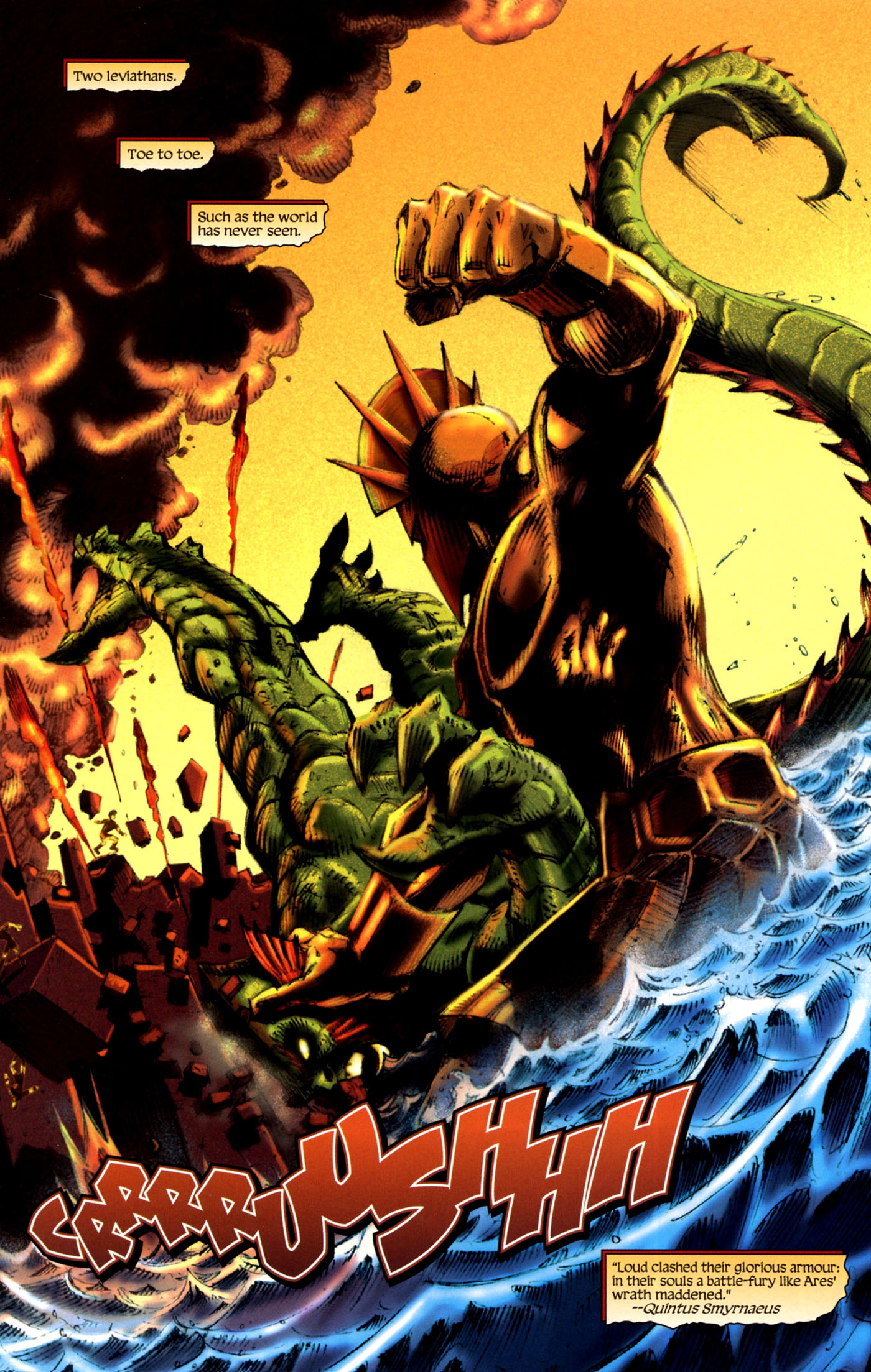 Read online Wrath of the Titans comic -  Issue #4 - 17
