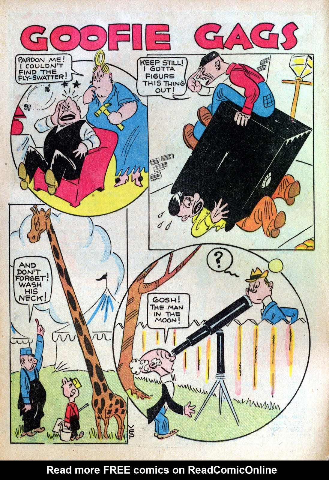 Read online Famous Funnies comic -  Issue #10 - 4