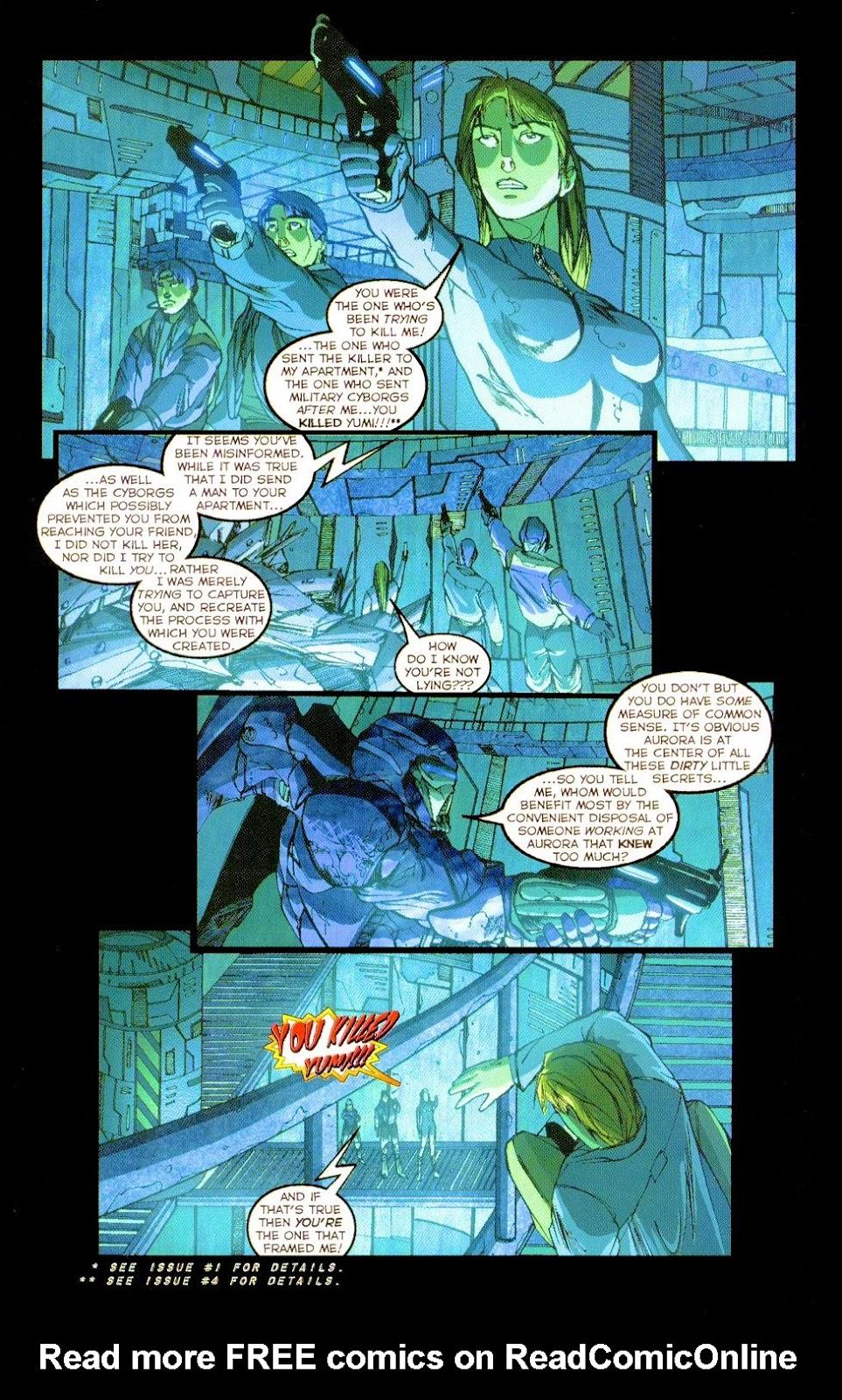 Darkminds (1998) Issue #8 #9 - English 15
