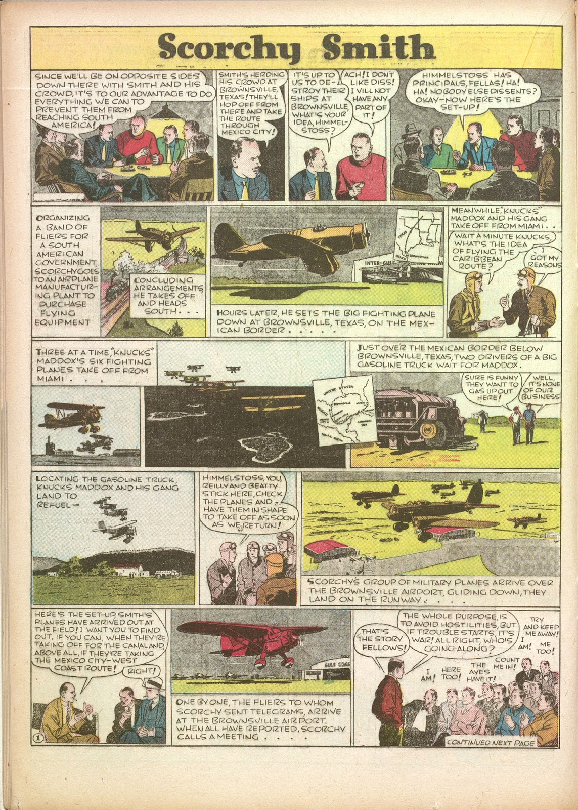 Read online Famous Funnies comic -  Issue #35 - 24