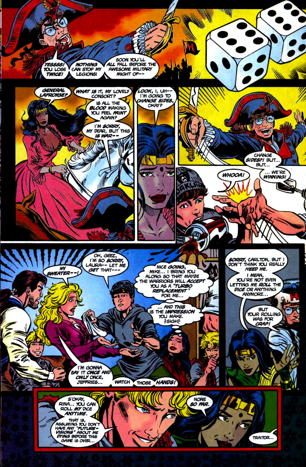 The New Warriors Issue #68 #72 - English 7