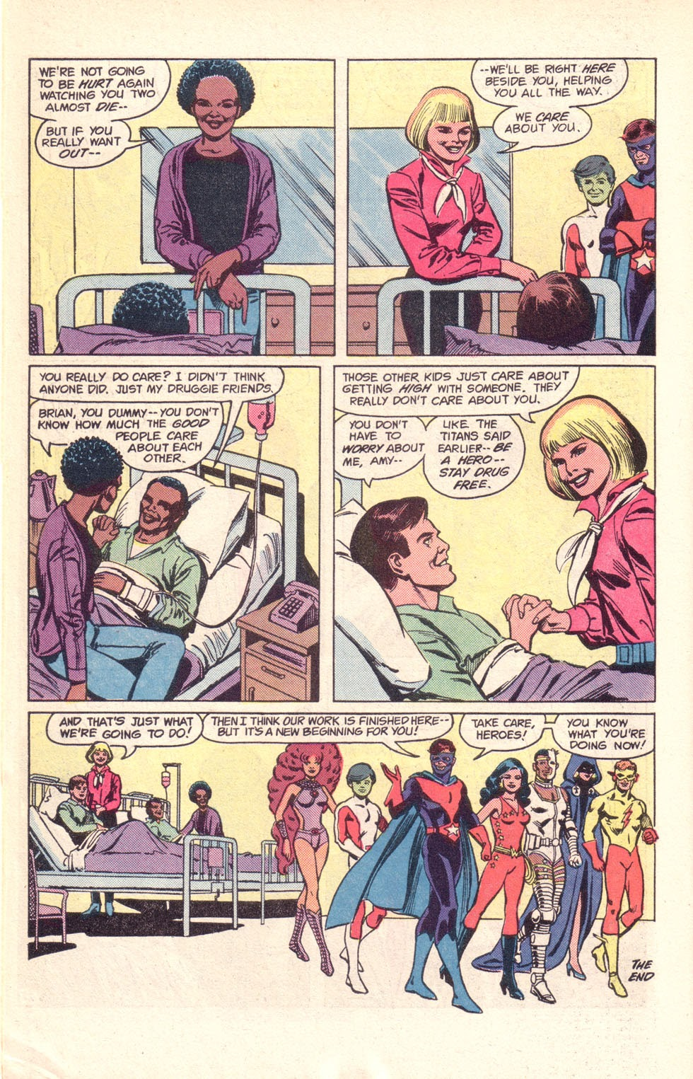 Read online The New Teen Titans (Drug Awareness Specials) comic -  Issue #1 - 30