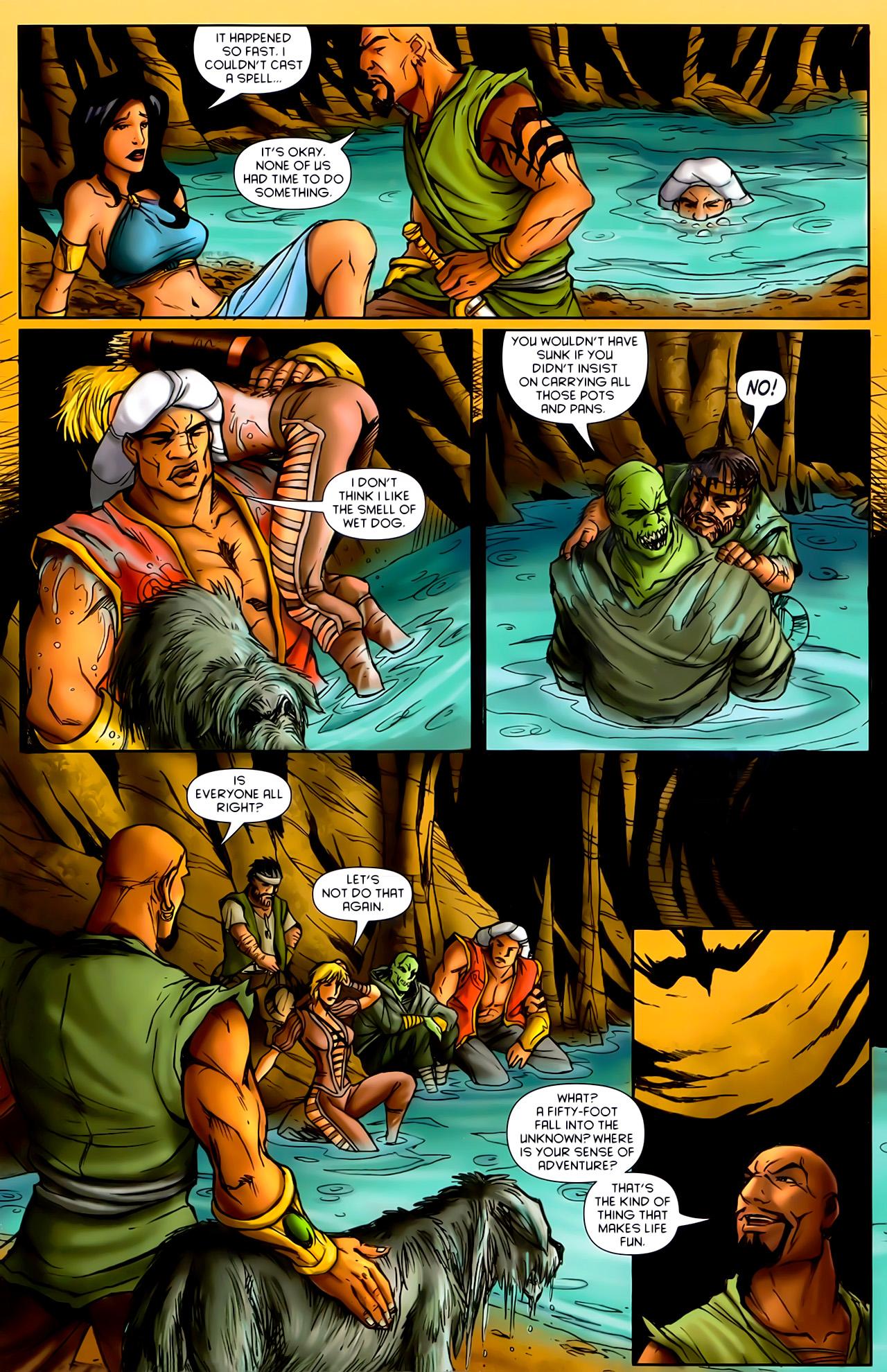 Read online 1001 Arabian Nights: The Adventures of Sinbad comic -  Issue #10 - 5
